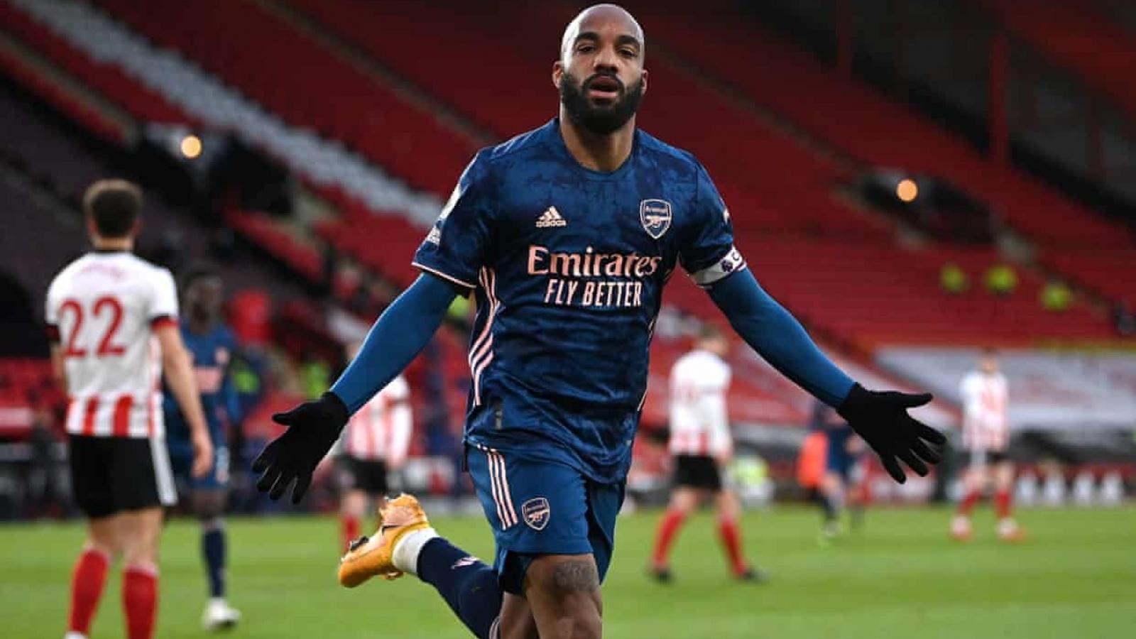 Thắng đậm Sheffield, Arsenal xua đi nỗi thất vọng ở Europa League
