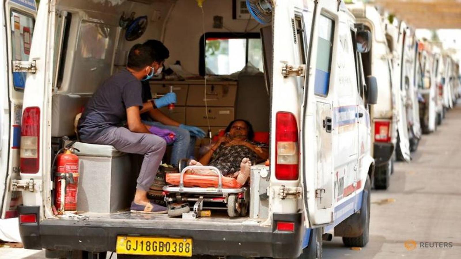 Ấn Độ ghi nhận số ca mắc Covid-19 và ca tử vong cao nhất từ trước đến nay
