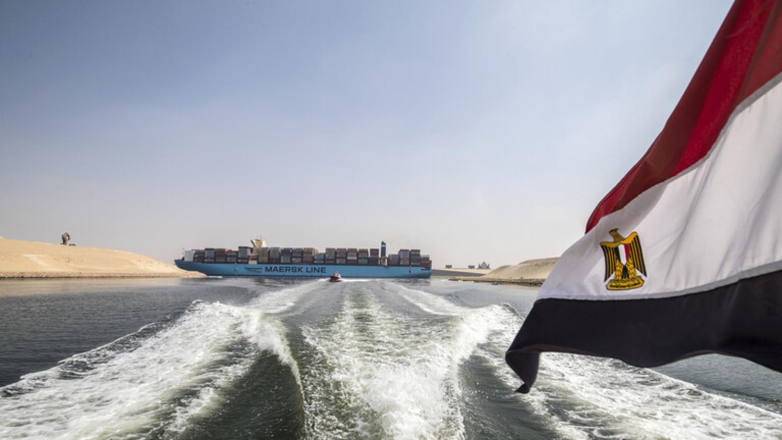Ai Cập chuẩn bị công bố kết quả điều tra vụ tàu Ever Given mắc cạn ở kênh đào Suez