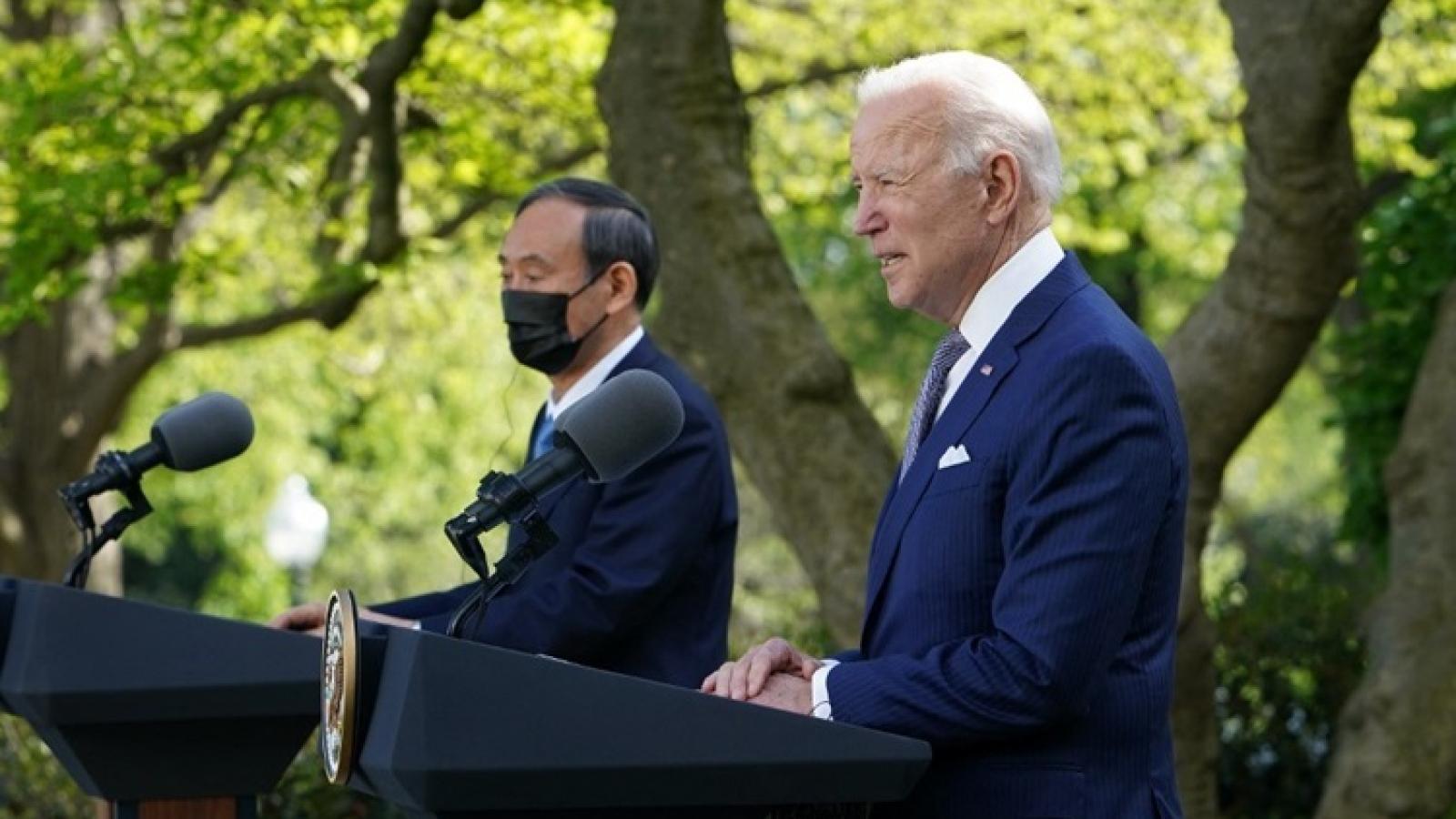 """Mỹ - Nhật cam kết chống lại """"sự uy hiếp"""" từ Trung Quốc ở Biển Đông và biển Hoa Đông"""