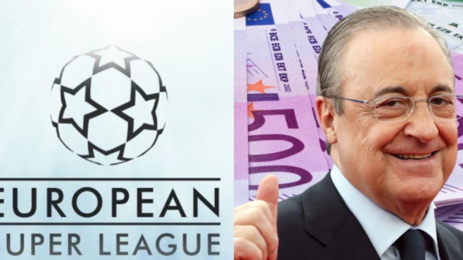 """Florentino Perez: """"Chúng tôi tạo ra Super League để cứu rỗi bóng đá"""""""