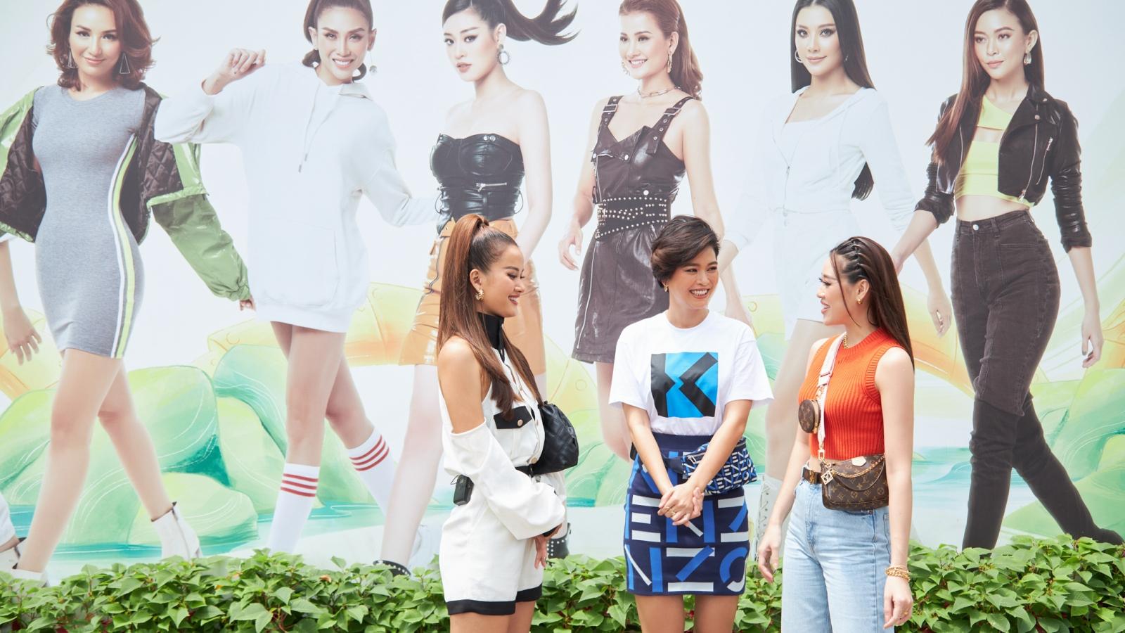 Khánh Vân lái xe chở Mâu Thủy - Hương Ly khám phá văn hóa, cảnh đẹp TPHCM