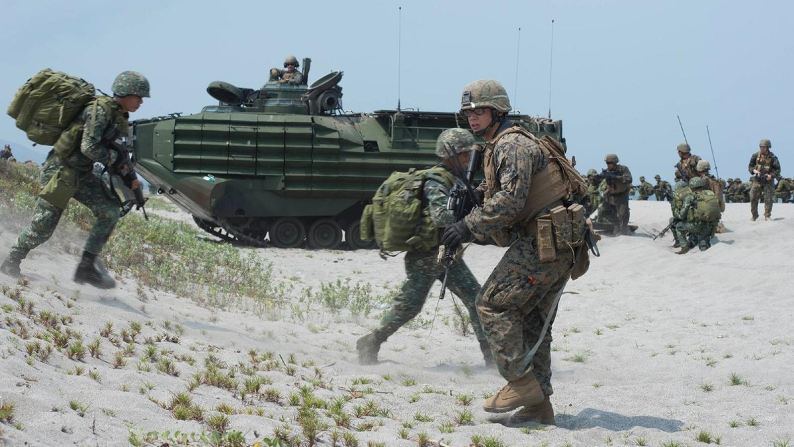 Hôm nay Philippines và Mỹ tập trận quân sự chung thường niên