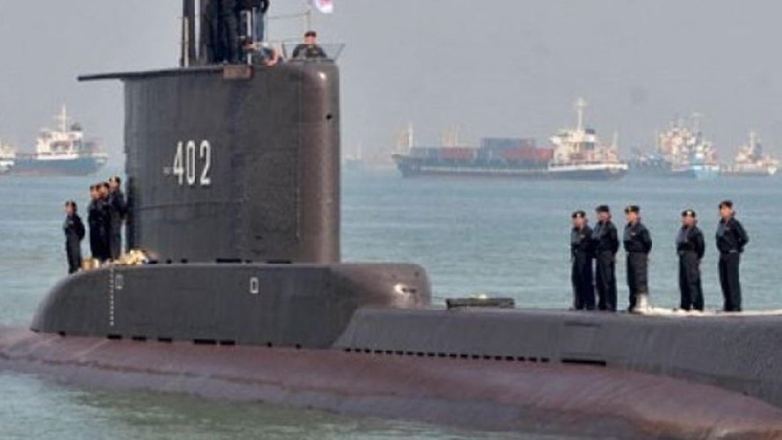 Indonesiatìm kiếm 53 thủy thủ trên tàu ngầm mất tích