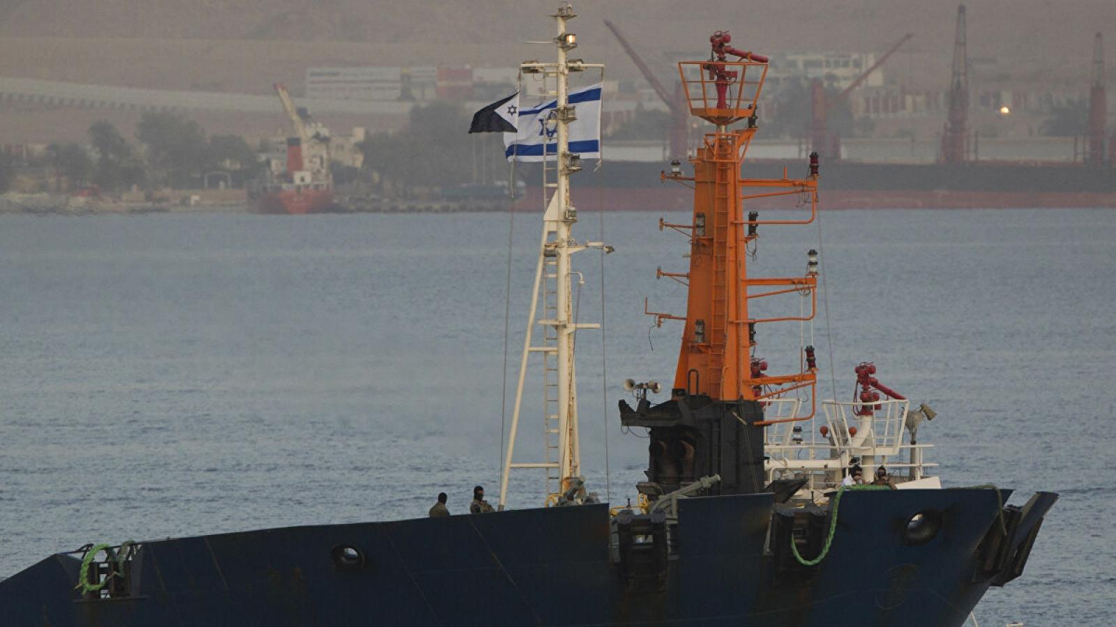 New York Times: Israel tấn công tàu Iran ở Biển Đỏ