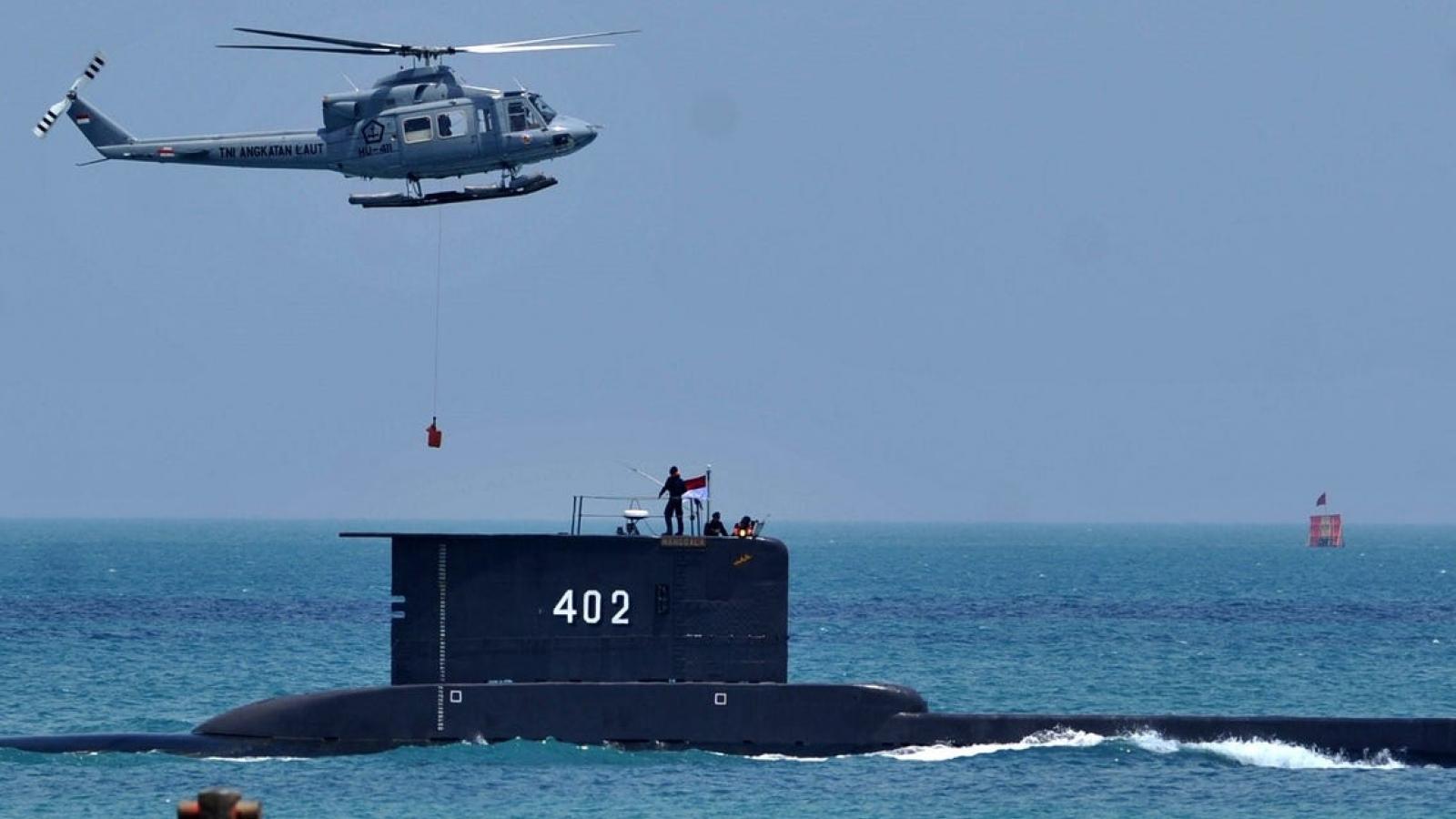 Indonesia huy động mọi nguồn lực tìm kiếm tàu ngầm khi dưỡng khí sắp cạn