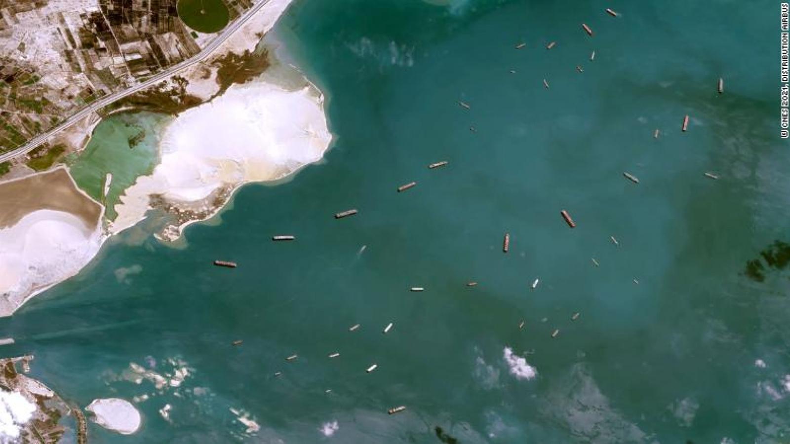 Sự cố kênh đào Suez là lời cảnh tỉnh đối với Mỹ