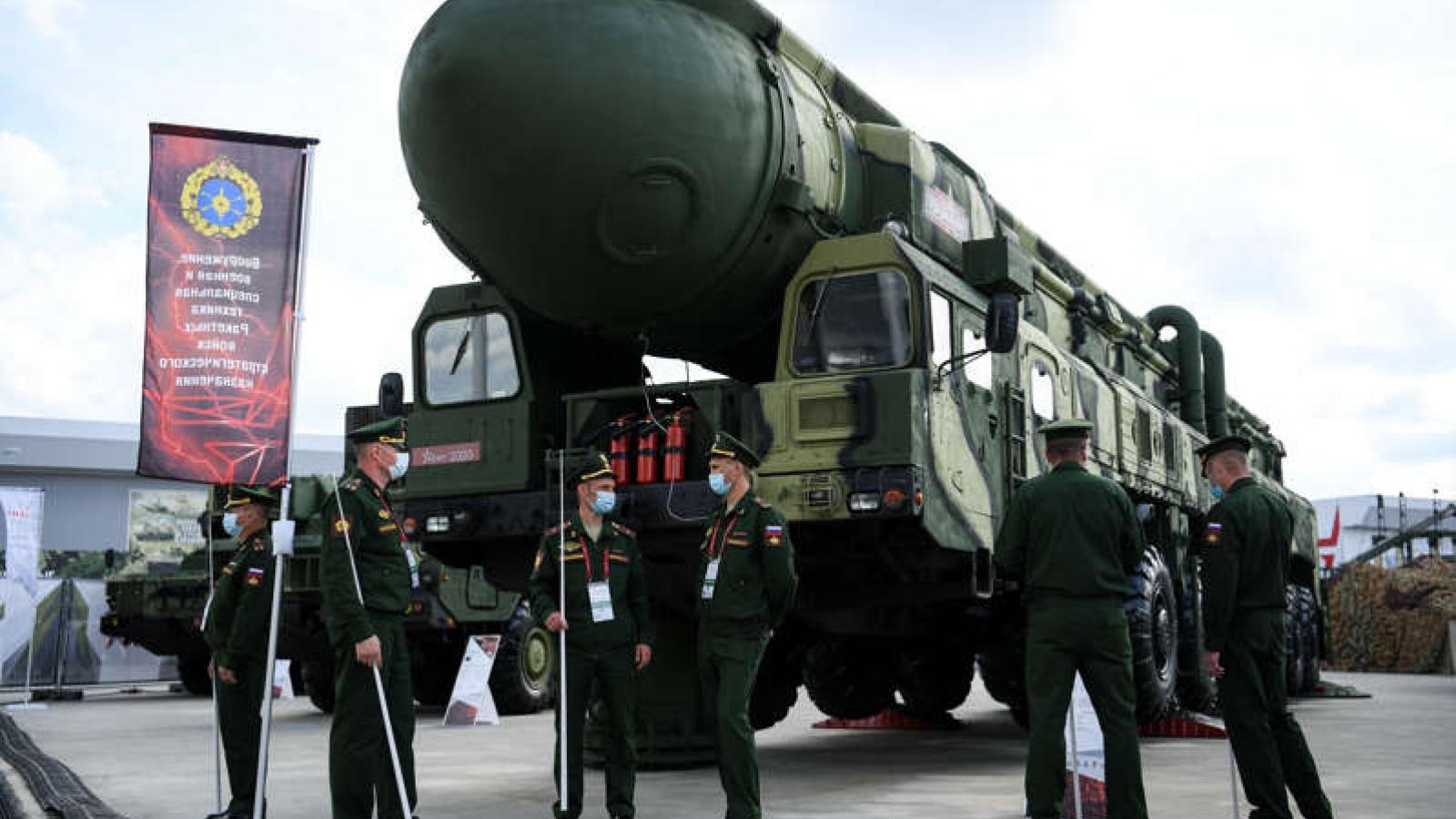 Nga thử tên lửa vận tốc gấp 4 lần đạn AK-47 trong lúc căng thẳng với phương Tây