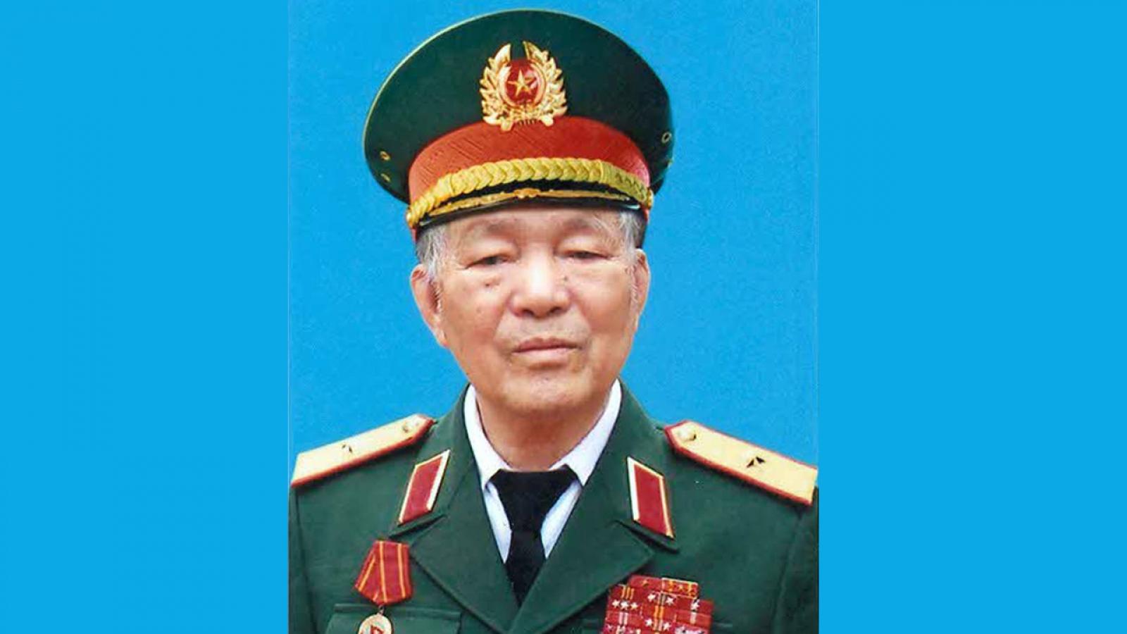 Thiếu tướng Dương Đàm từ trần