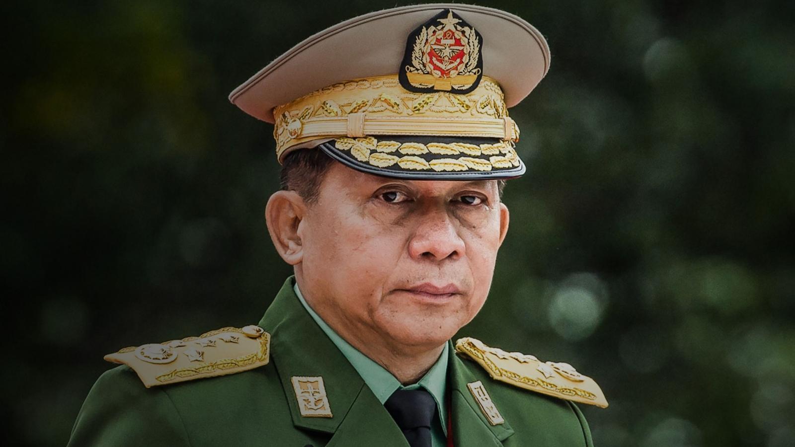 Quân đội Myanmar xác nhận Thống tướng Min Aung Hlaing dự hội nghị cấp cao ASEAN