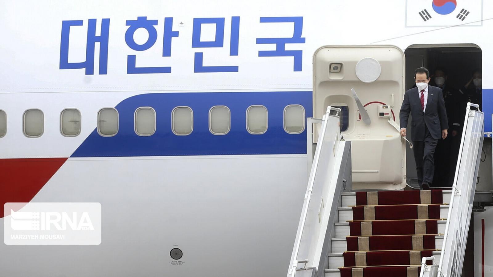 Thủ tướng Hàn Quốc thăm Iran lần đầu tiên sau 44 năm