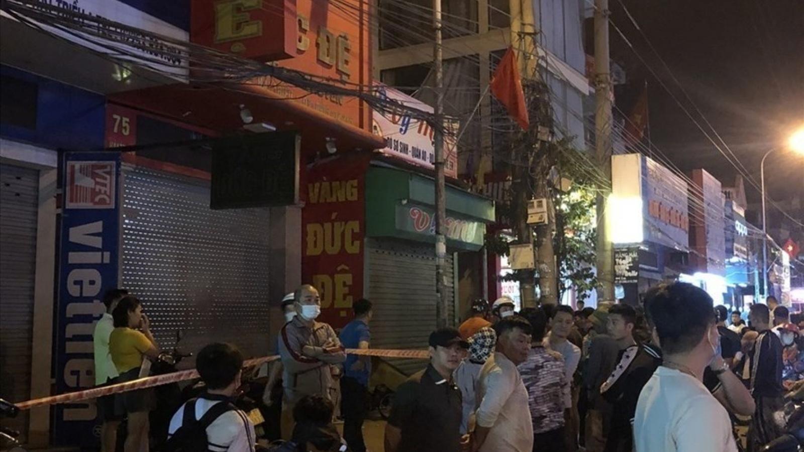 Clip: Nghi phạm gây nổ tiệm vàng ở Hải Phòng bị bắt