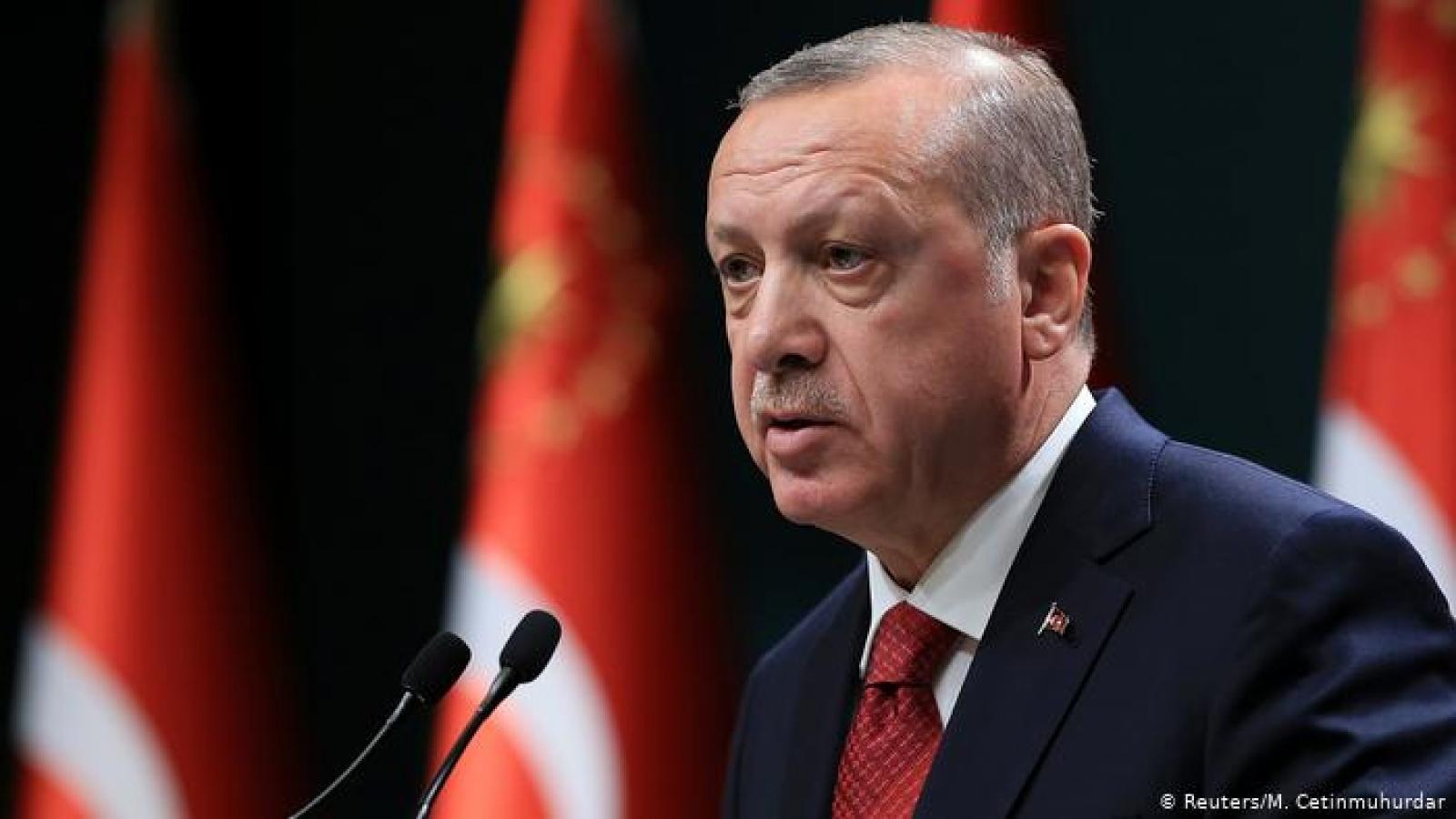 """Thổ Nhĩ Kỳ kêu gọi chấm dứt diễn biến """"đáng lo ngại"""" ở khu vực Donbass"""