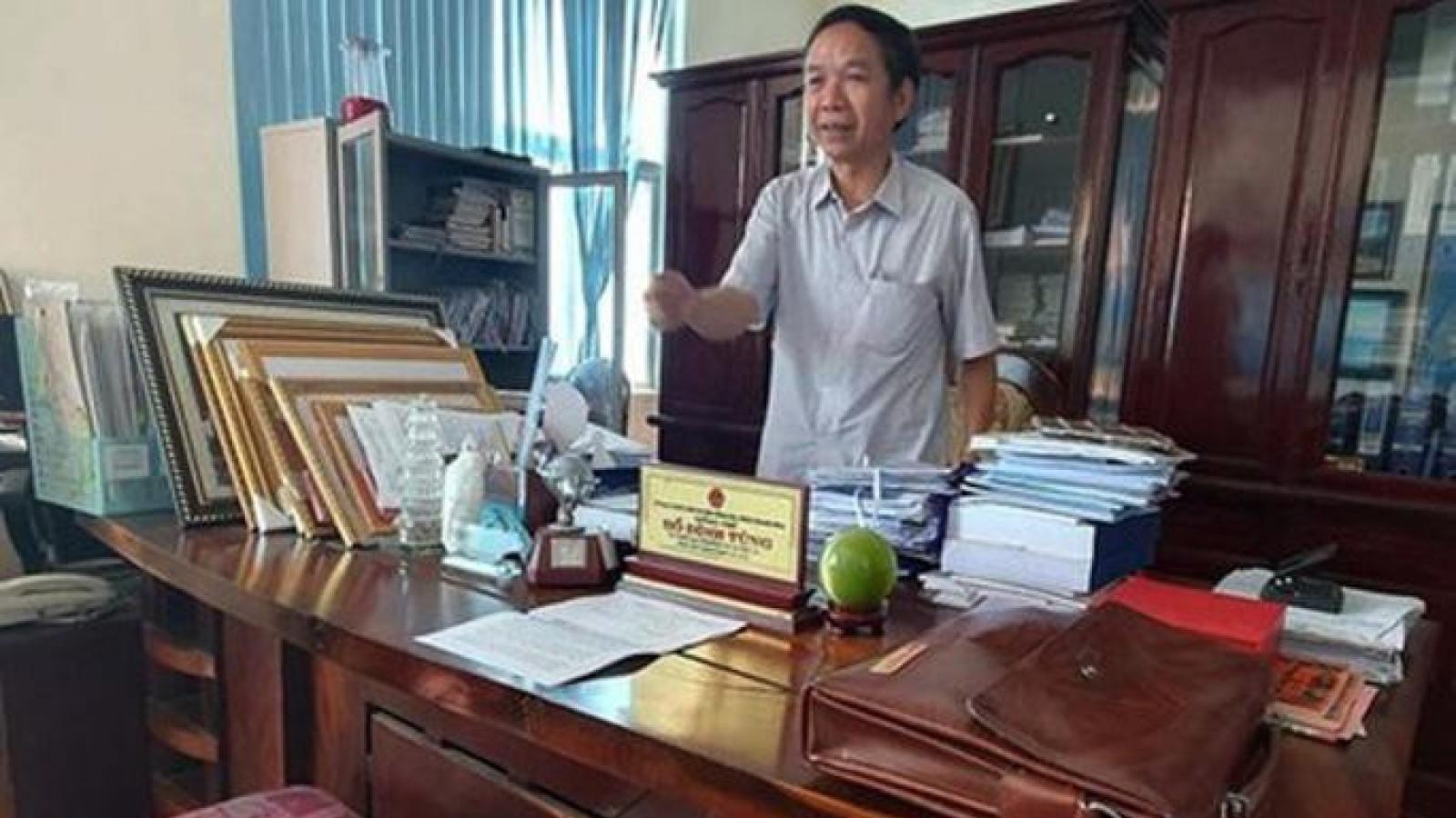 Bắt Phó Chủ tịch HĐND thị xã Nghi Sơn - Thanh Hóa