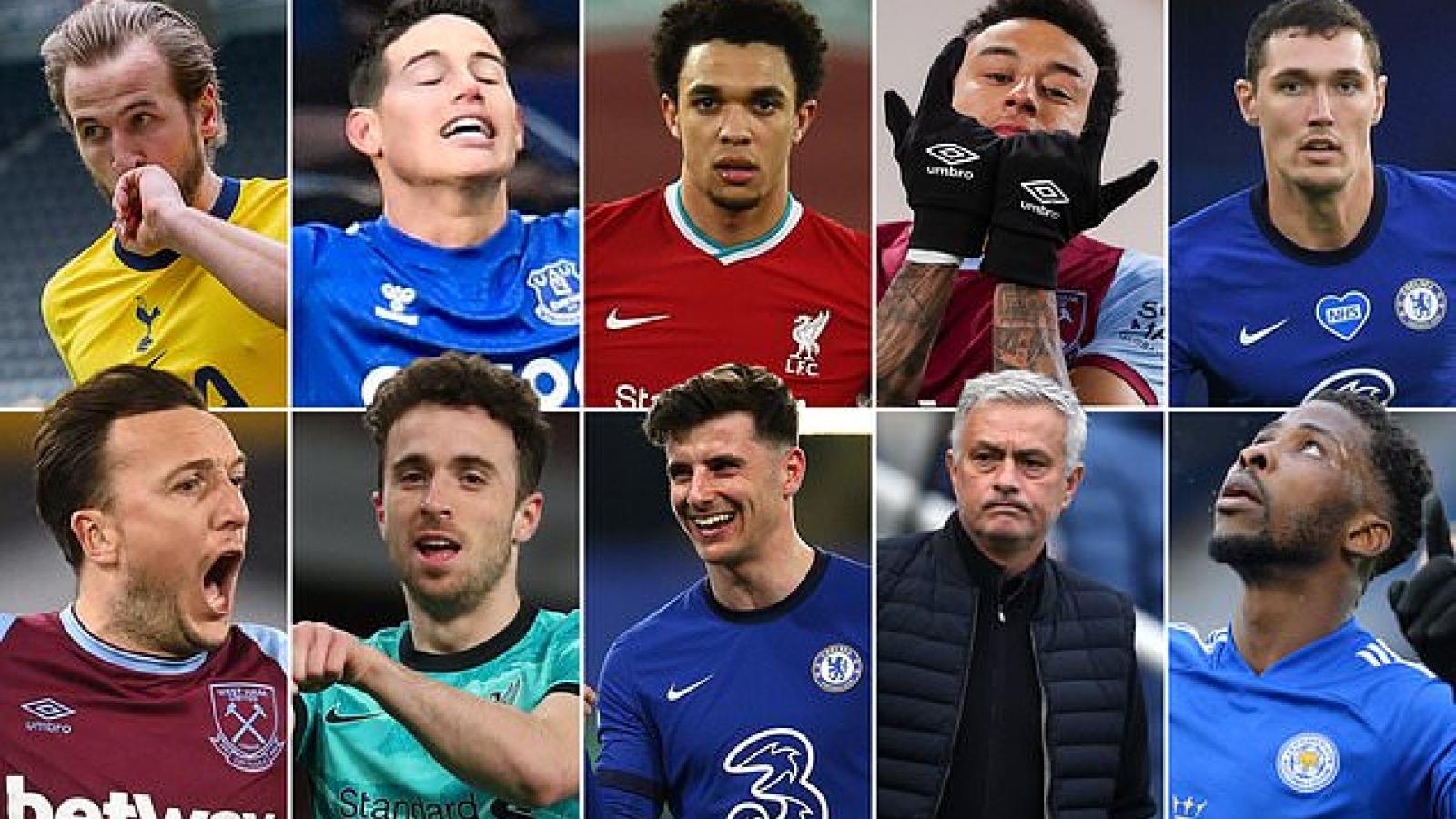 Lingard và top 10 cái tên sẽ định đoạt số phận cuộc đua top 4 Premier League