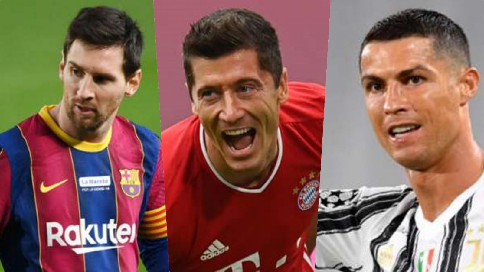"""Cuộc đua """"Chiếc giày Vàng"""" châu Âu: Ronaldo nỗ lực bám đuổi Lewandowski"""