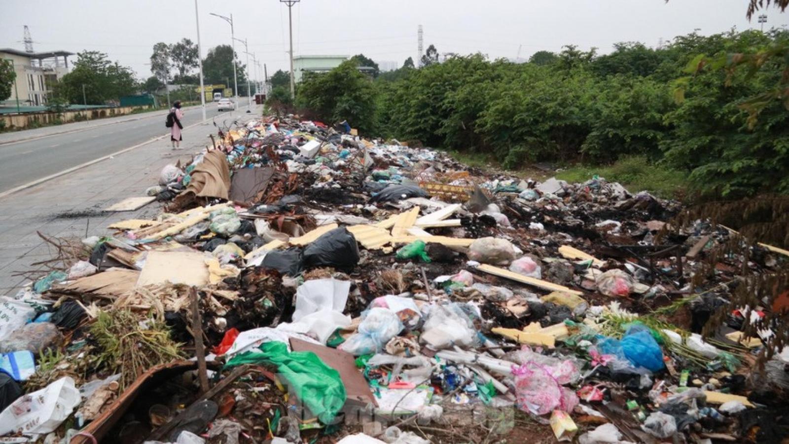 Xử lý bãi rác tự phát ở Nam Từ Liêm: Cần những giải pháp căn bản, lâu dài