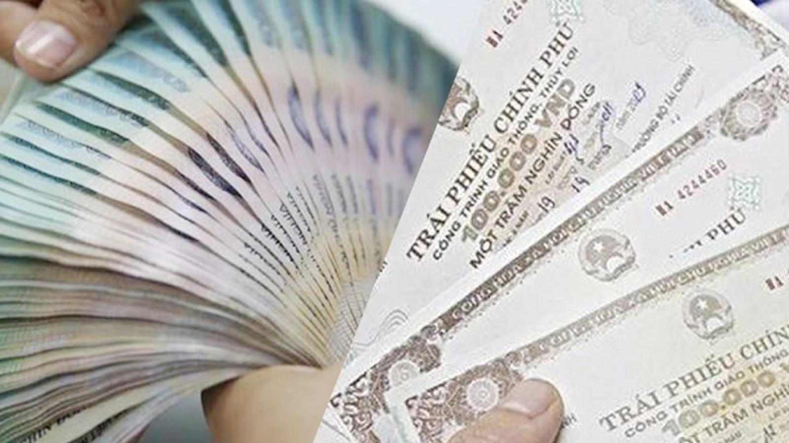 Huy động hơn 39.200 tỷ đồng trái phiếu Chính phủ trong quý I