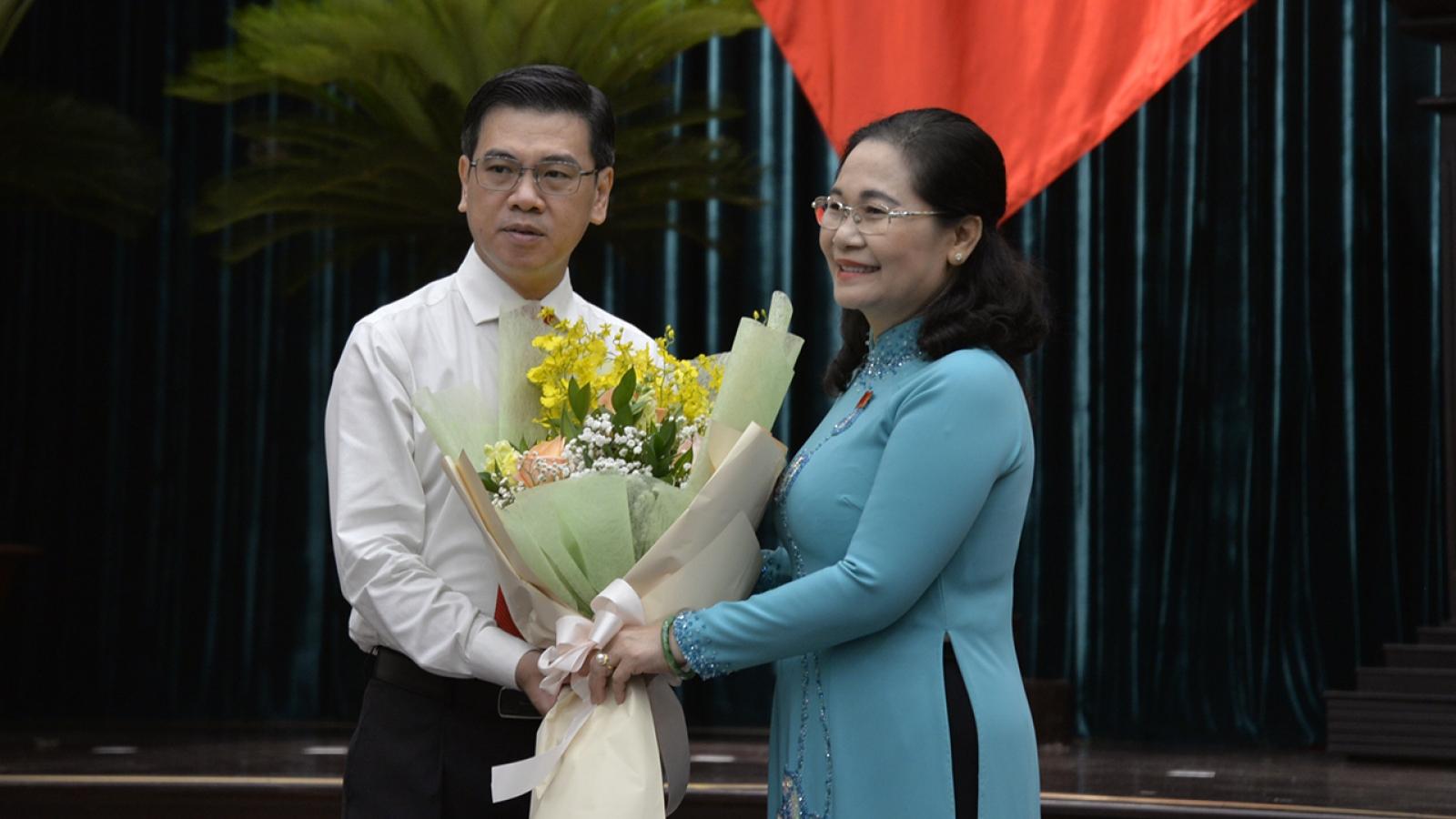 Chủ tịch Quận 1 được bầu giữ chức Phó Chủ tịch HĐND Thành phố Hồ Chí Minh
