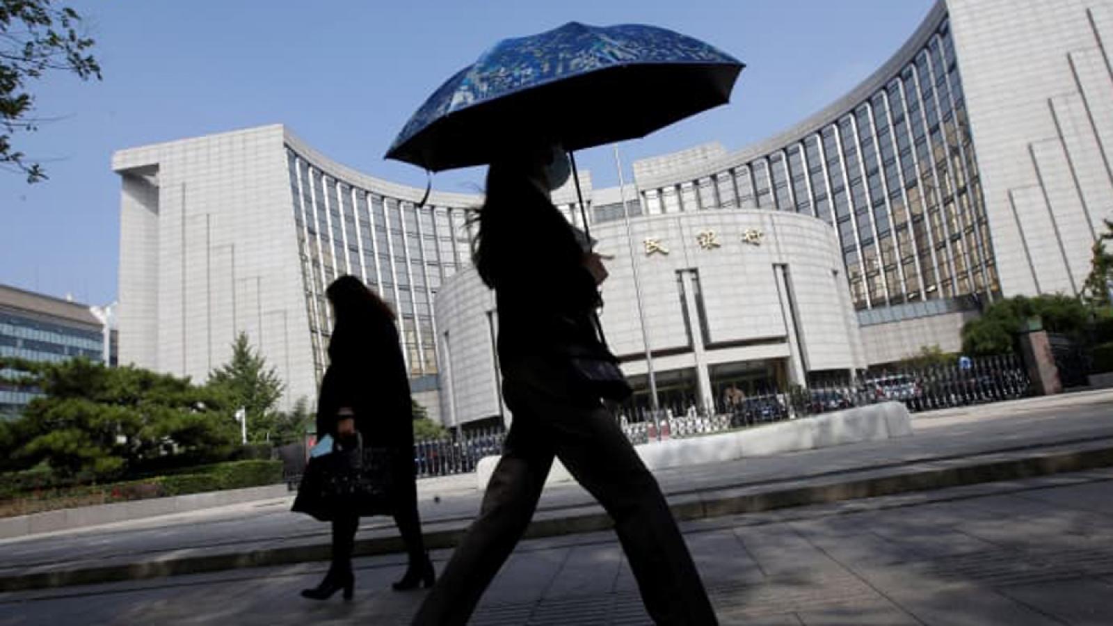 Ngân hàng trung ương Trung Quốc cảnh báo về rủi ro tài chính, nguy cơ vỡ nợ
