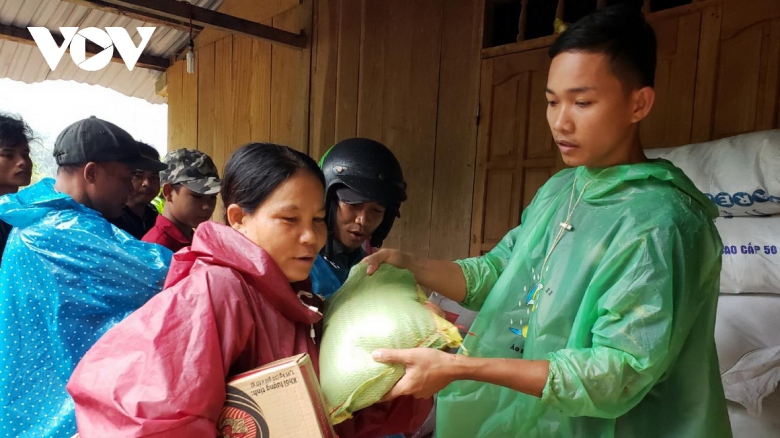 39 hộ dân vùng sạt lở Trà Leng về làng tái định cư mới