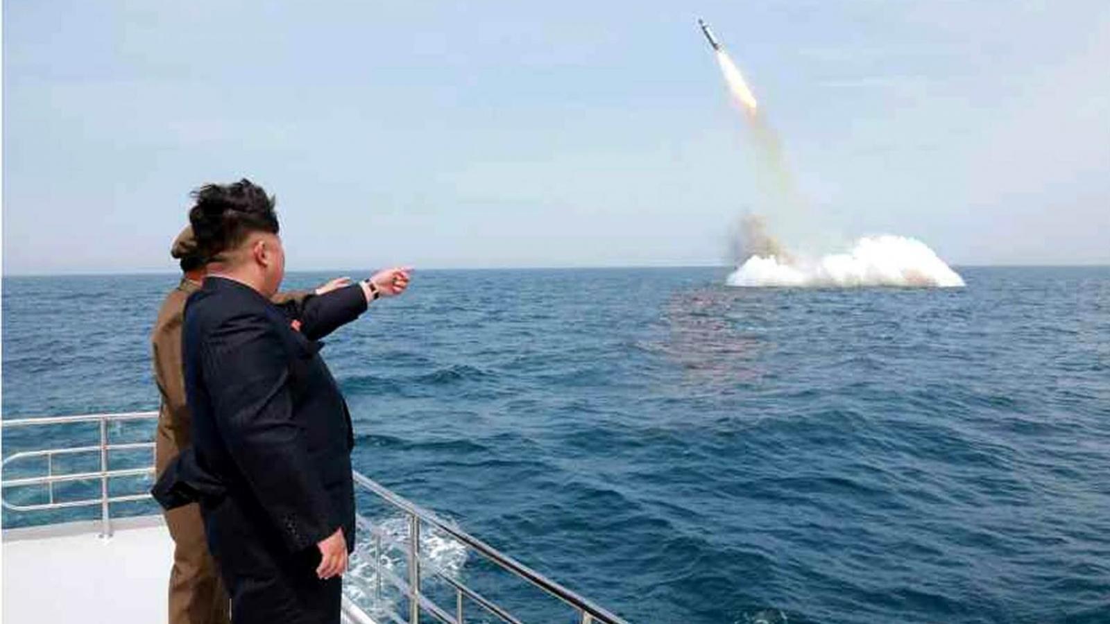 Mỹ-Hàn cảnh giác trước dấu hiệu Triều Tiên có thể thử tên lửa đạn đạo