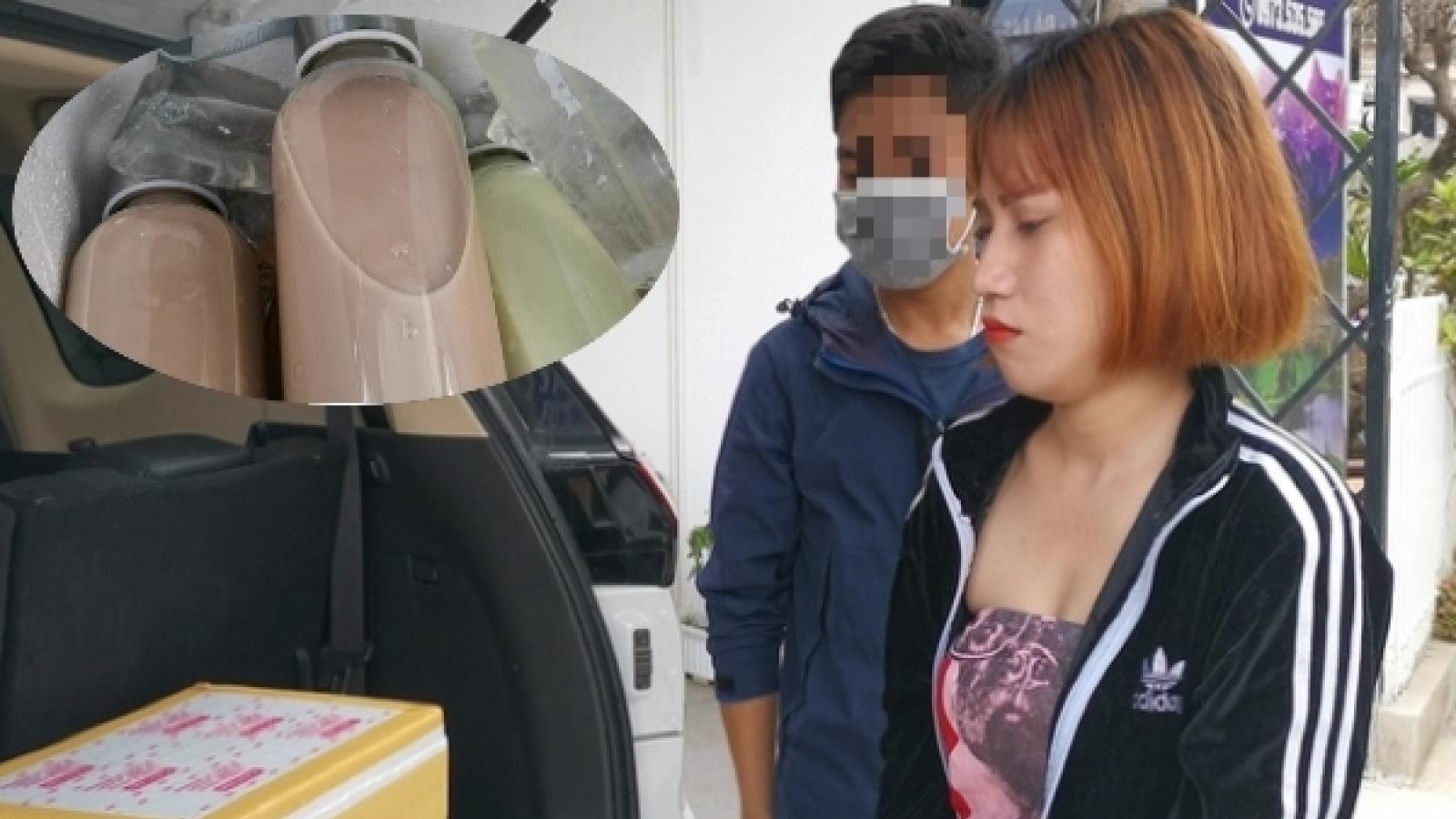 Trộn cần sa vào trà sữa để bán cho thanh niên, khách du lịch