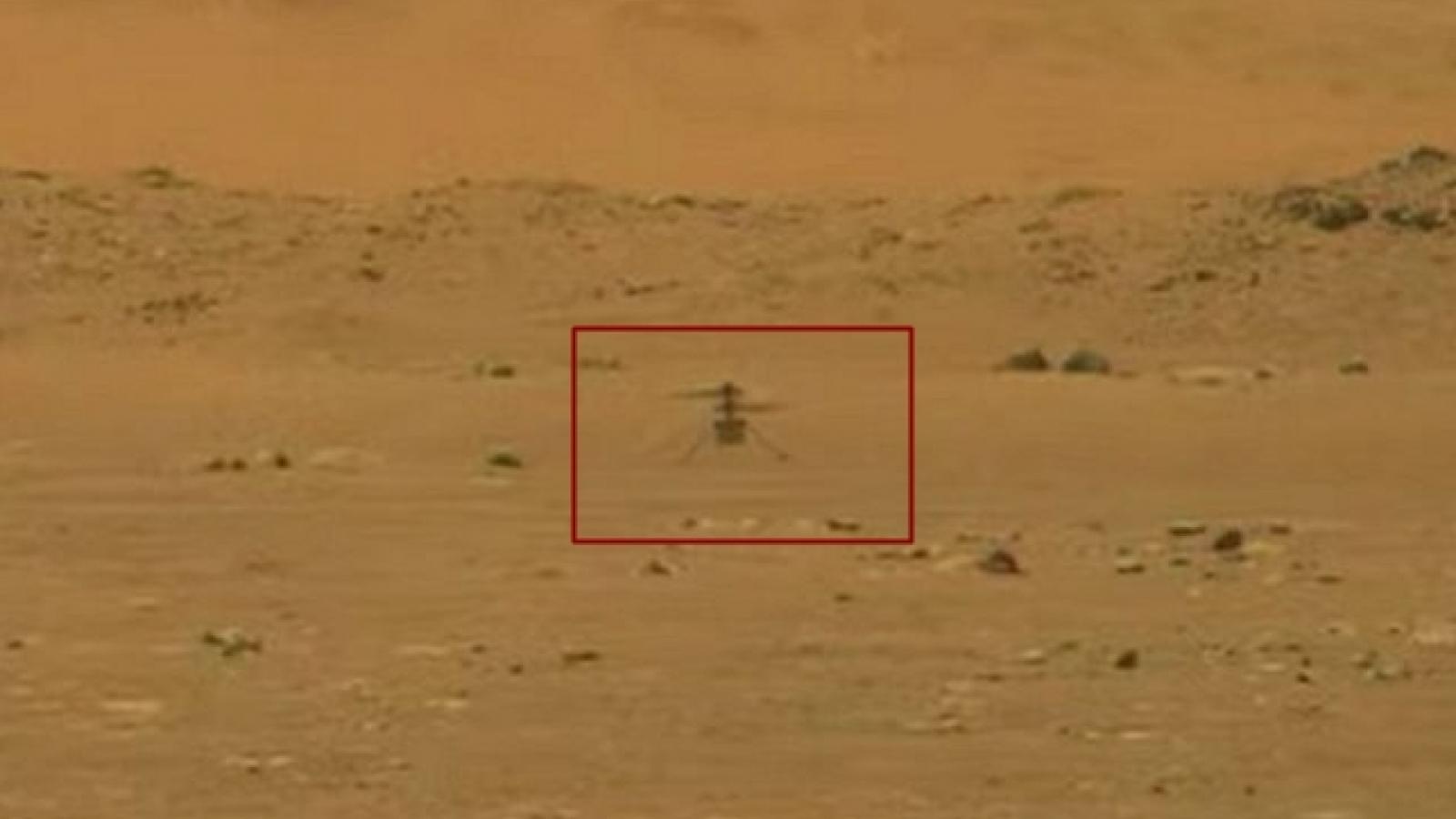 Trực thăng nhỏ của NASA lần đầu tiên bay trên Sao Hỏa