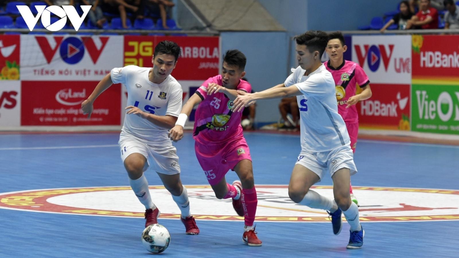 Xem trực tiếp Futsal HDBank VĐQG 2021: Zetbit Sài Gòn - Thái Sơn Nam