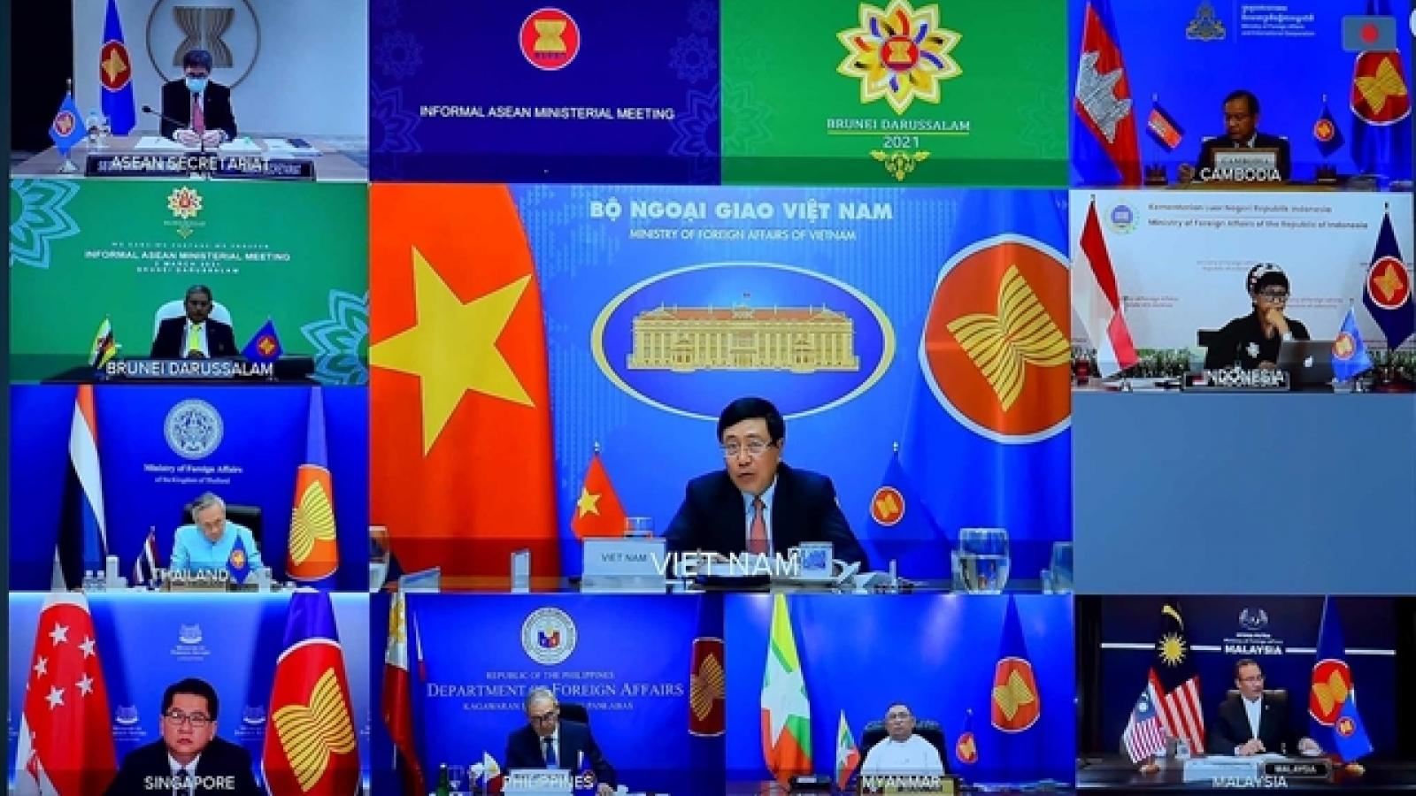 Vai trò quan trọng của ASEAN trong giải quyết khủng hoảng ở Myanmar