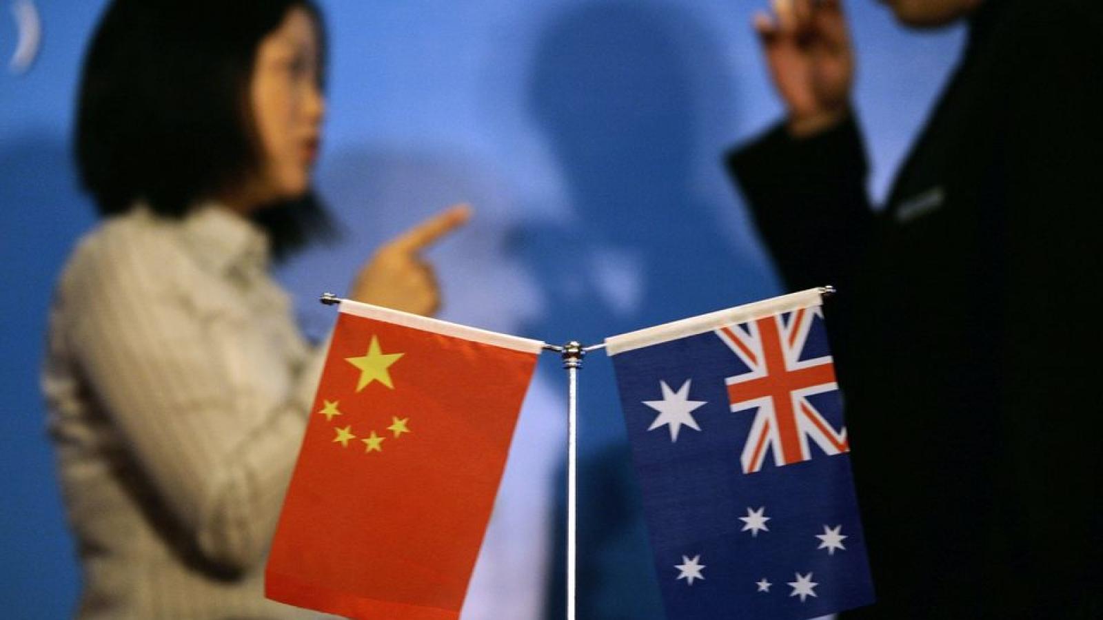 """Trung Quốc chỉ trích Australia""""gây tổn hại quan hệ"""" khi rút khỏi """"Vành đai, Con đường"""""""