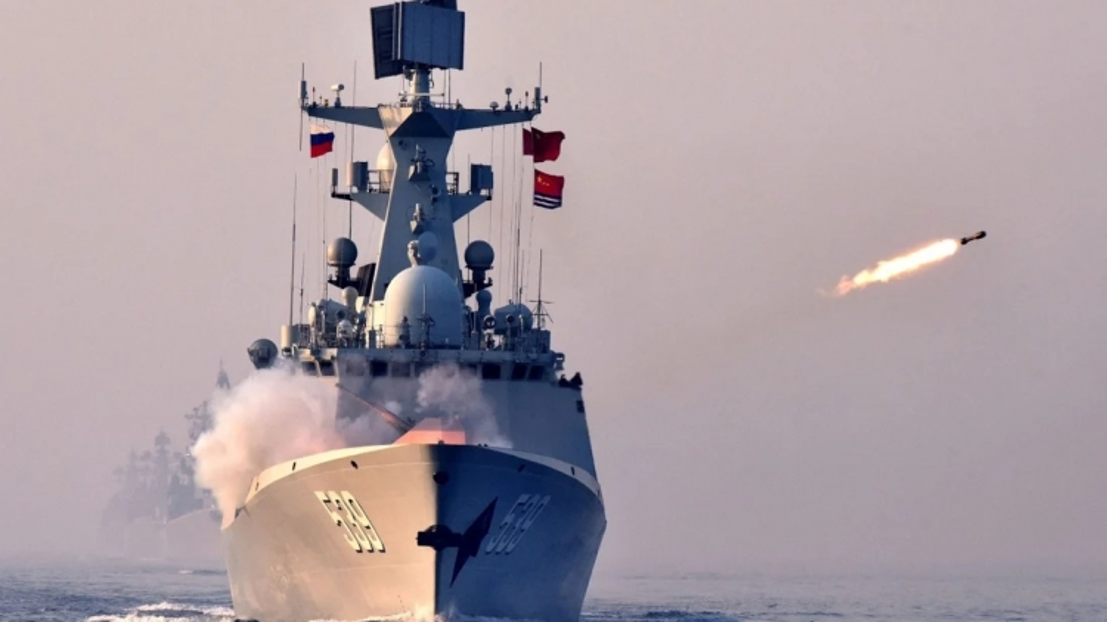 Trung Quốc tập trận bắn đạn thật ngoài khơi Đài Loan khi phái đoàn Mỹ tới đây
