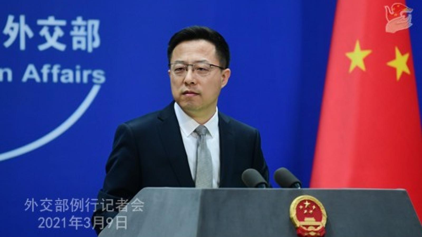 """Trung Quốc cảnh báo Mỹ không nên """"đùa với lửa"""" trong vấn đề Đài Loan"""