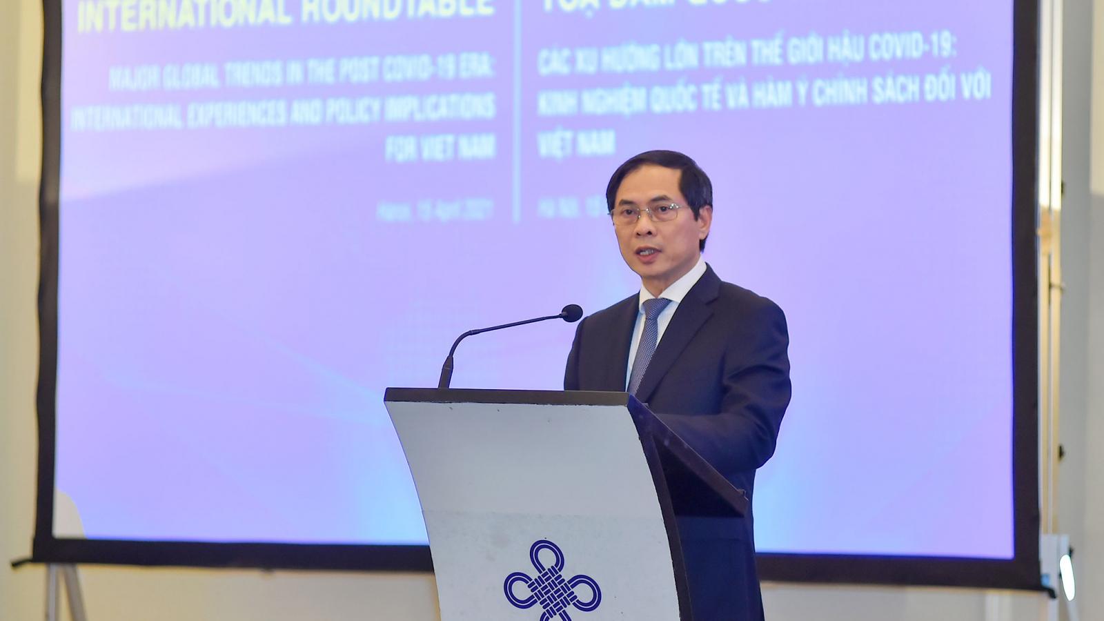 Các xu hướng lớn trên thế giới hậu Covid-19: Kinh nghiệm quốc tế và gợi ýđối với Việt Nam