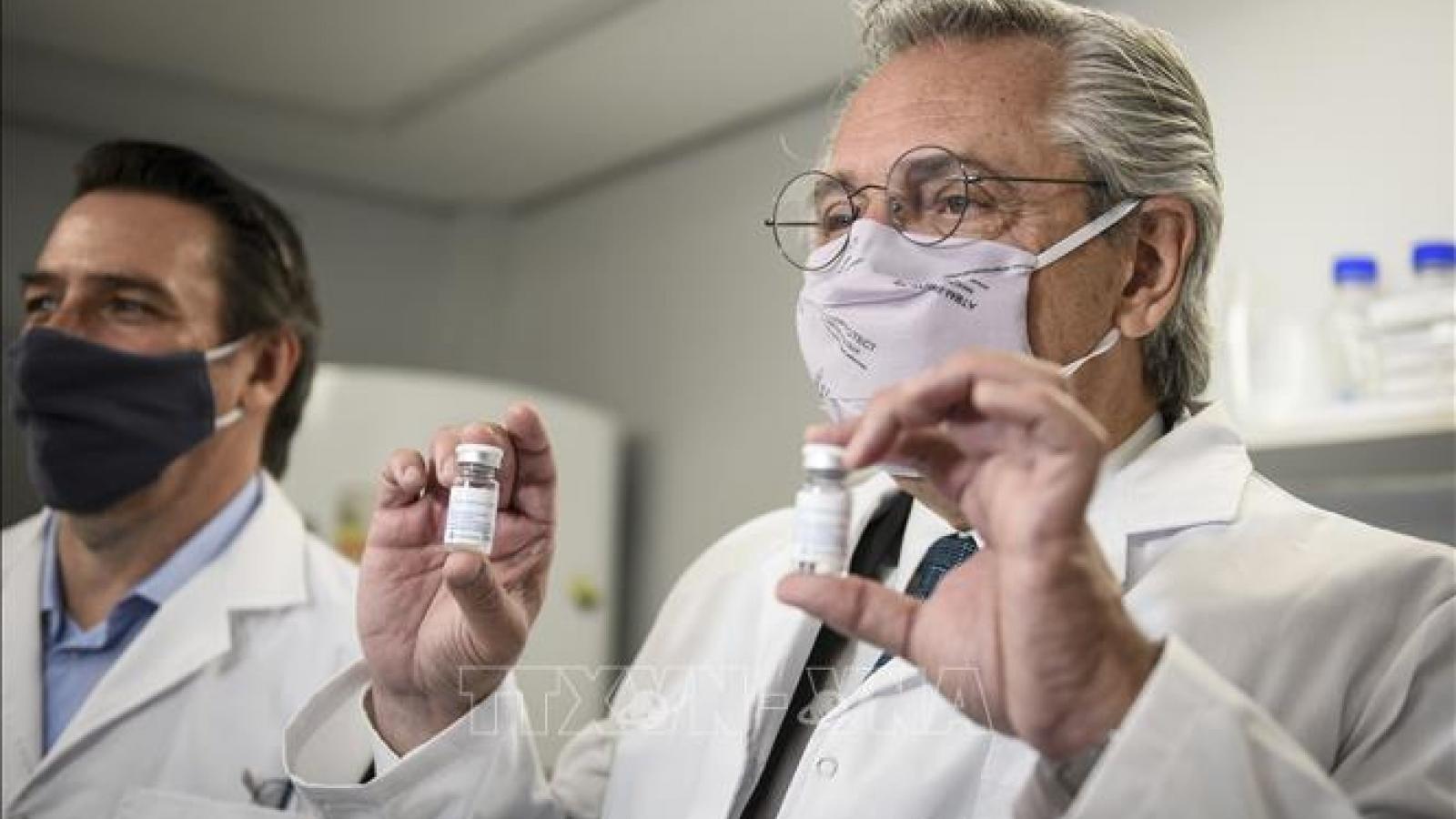 Tổng thống Argentina dương tính với SARS-CoV-2