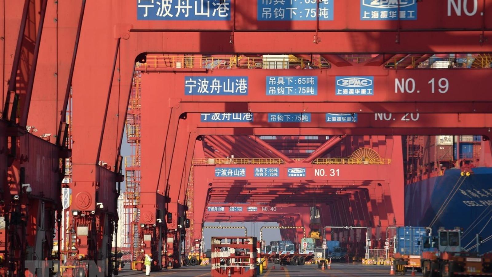 Tăng trưởng của Trung Quốc quý 1/2021 chủ yếu vẫn là xuất khẩu