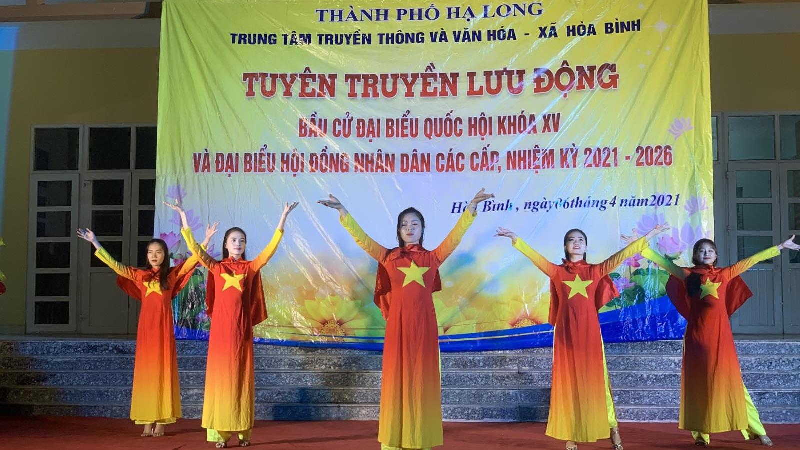 Truyền thanh cơ sở phát huy hiệu quả trong tuyên truyền bầu cử tại Quảng Ninh