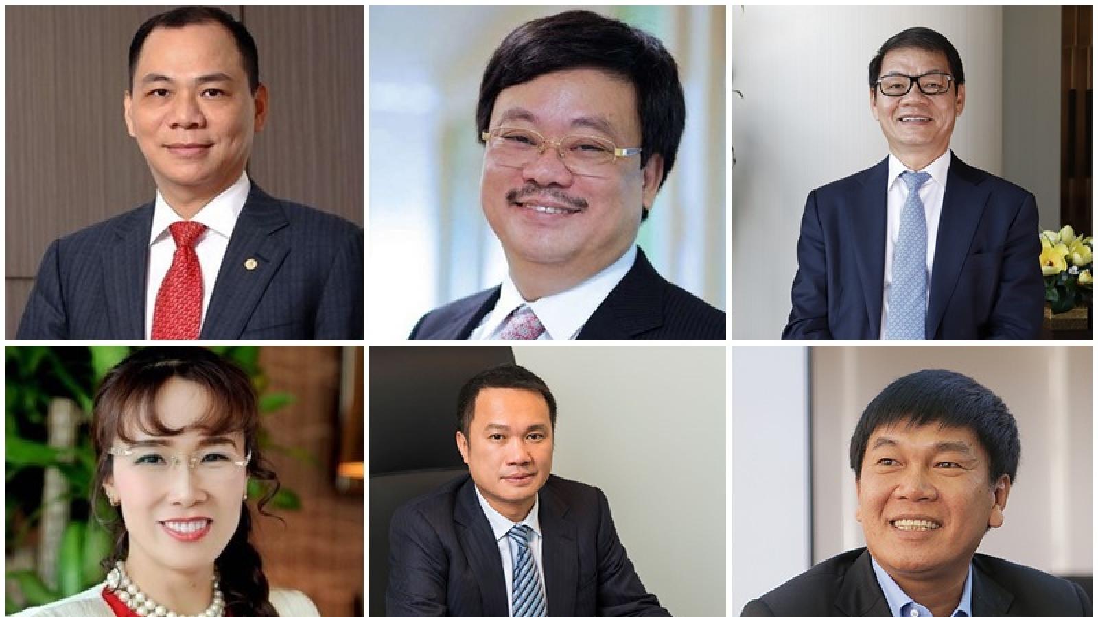 6 doanh nhân Việt lọt vào danh sách tỷ phú USD thế giới