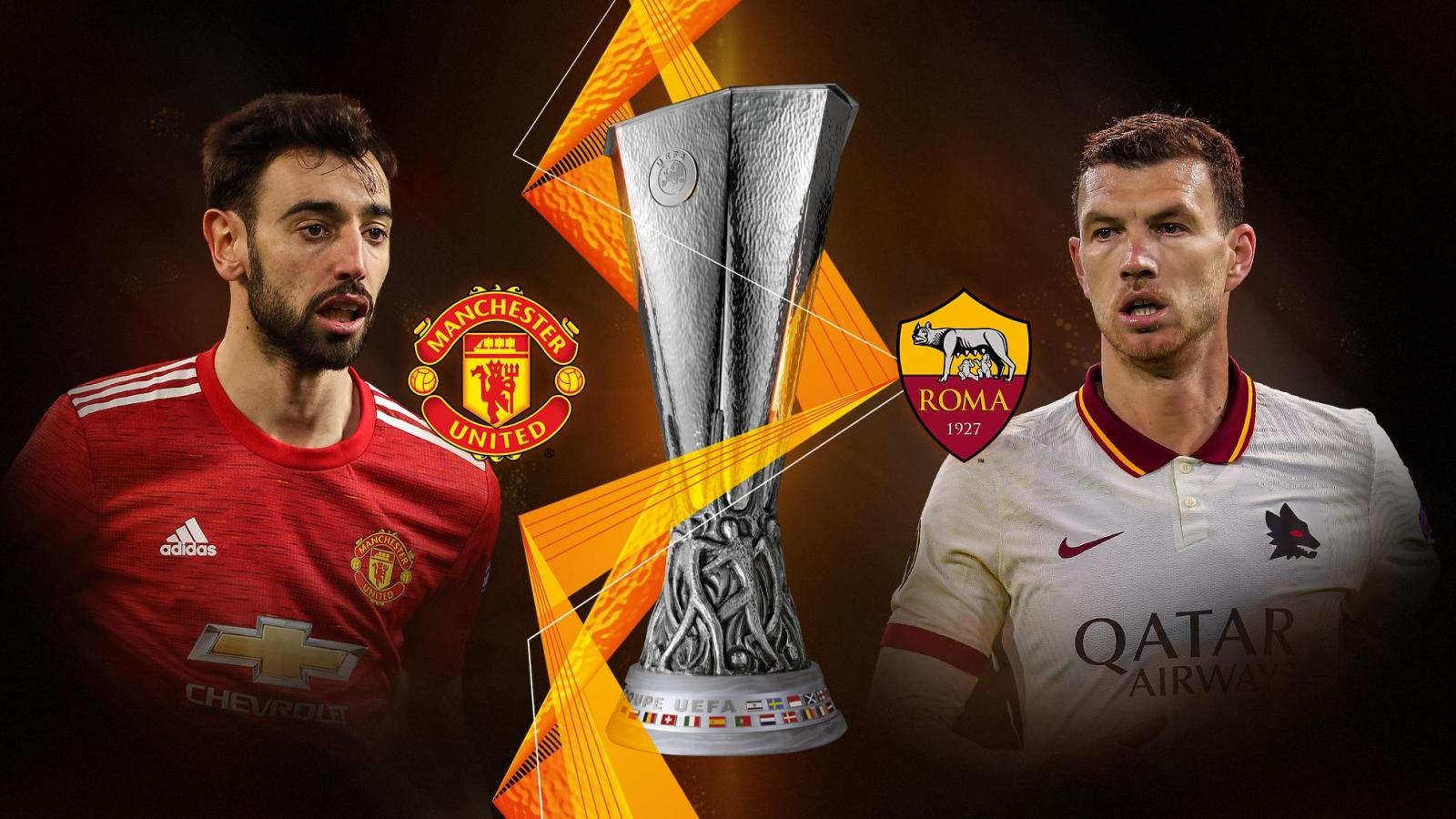 Dự đoán kết quả, đội hình xuất phát trận MU - Roma