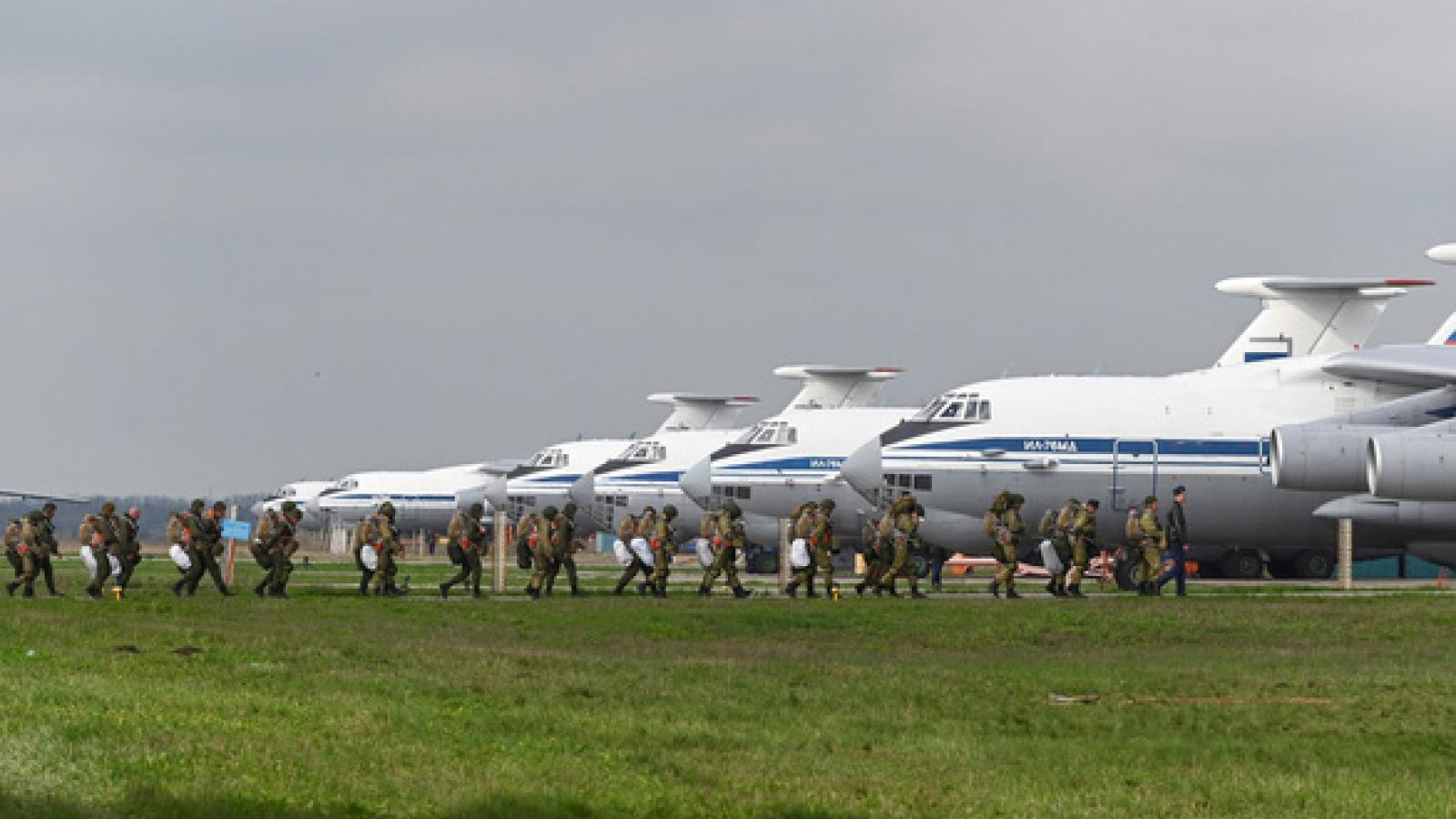 Liên Hợp Quốc hoan nghênh Nga rút quân khỏi biên giới Ukraine
