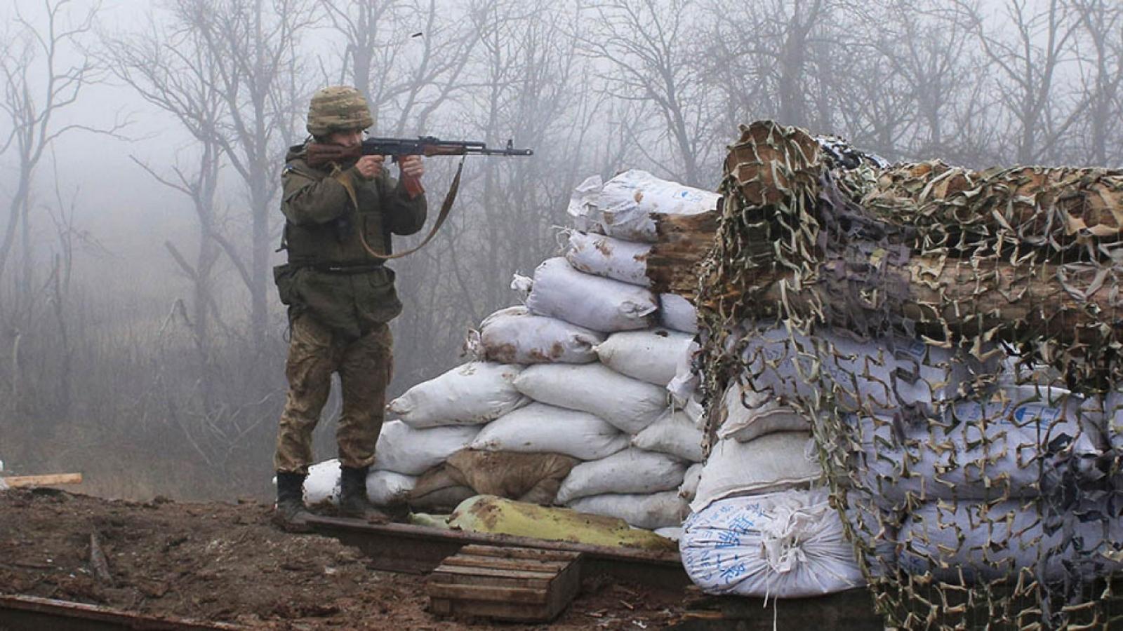 Ukraine bác thông tin chuẩn bị tấn công Donbass