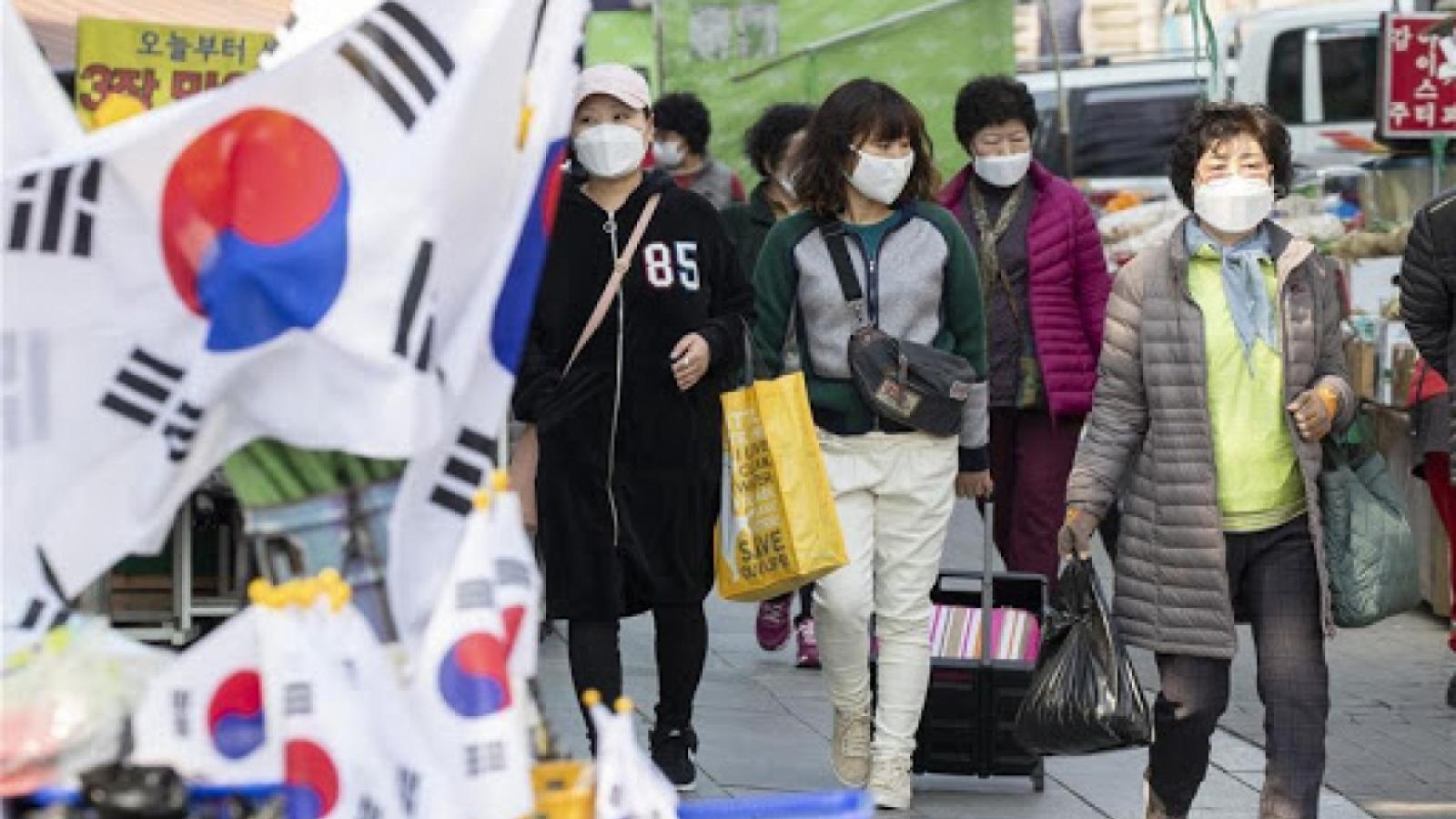 Hàn Quốc phạt 90 USD đối với cá nhân không đeo khẩu trang