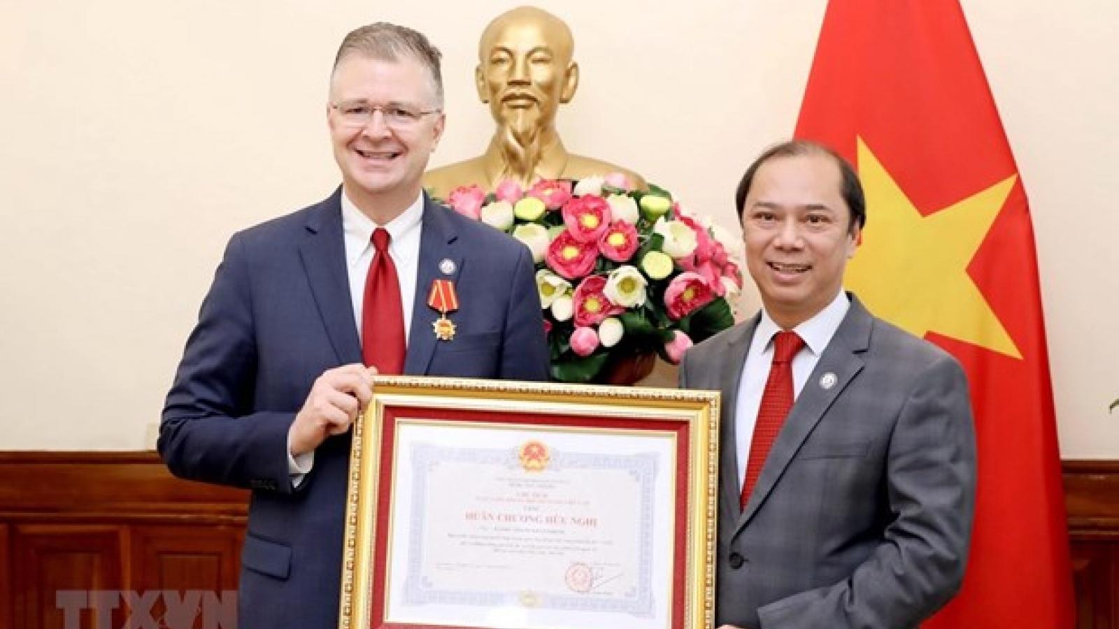 US Ambassador honoured with Friendship Order
