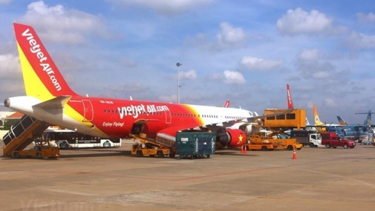 Vietjet connects Phu Quoc with some domestic destinations