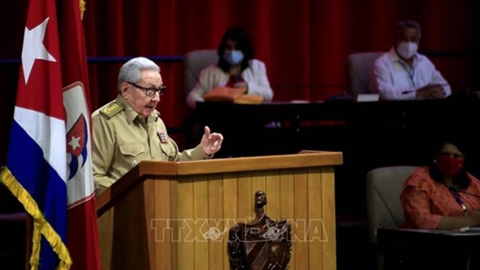 Ban Chấp hành T.Ư gửi điện mừng Đại hội lần thứ VIII của Đảng Cộng sản Cuba