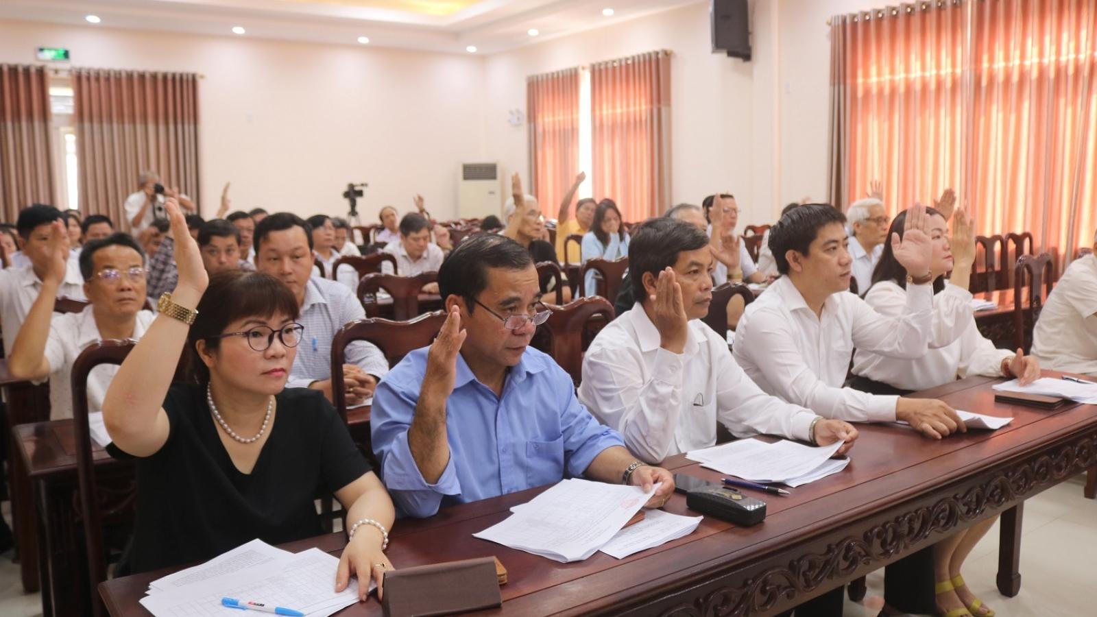 3 người xin thôi ứng cử Đại biểu Quốc hội Khóa XV tại Huế