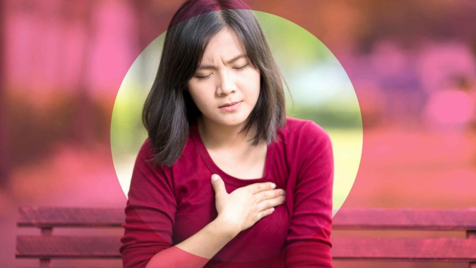 10 nguyên nhân gây đau tức bầu ngực