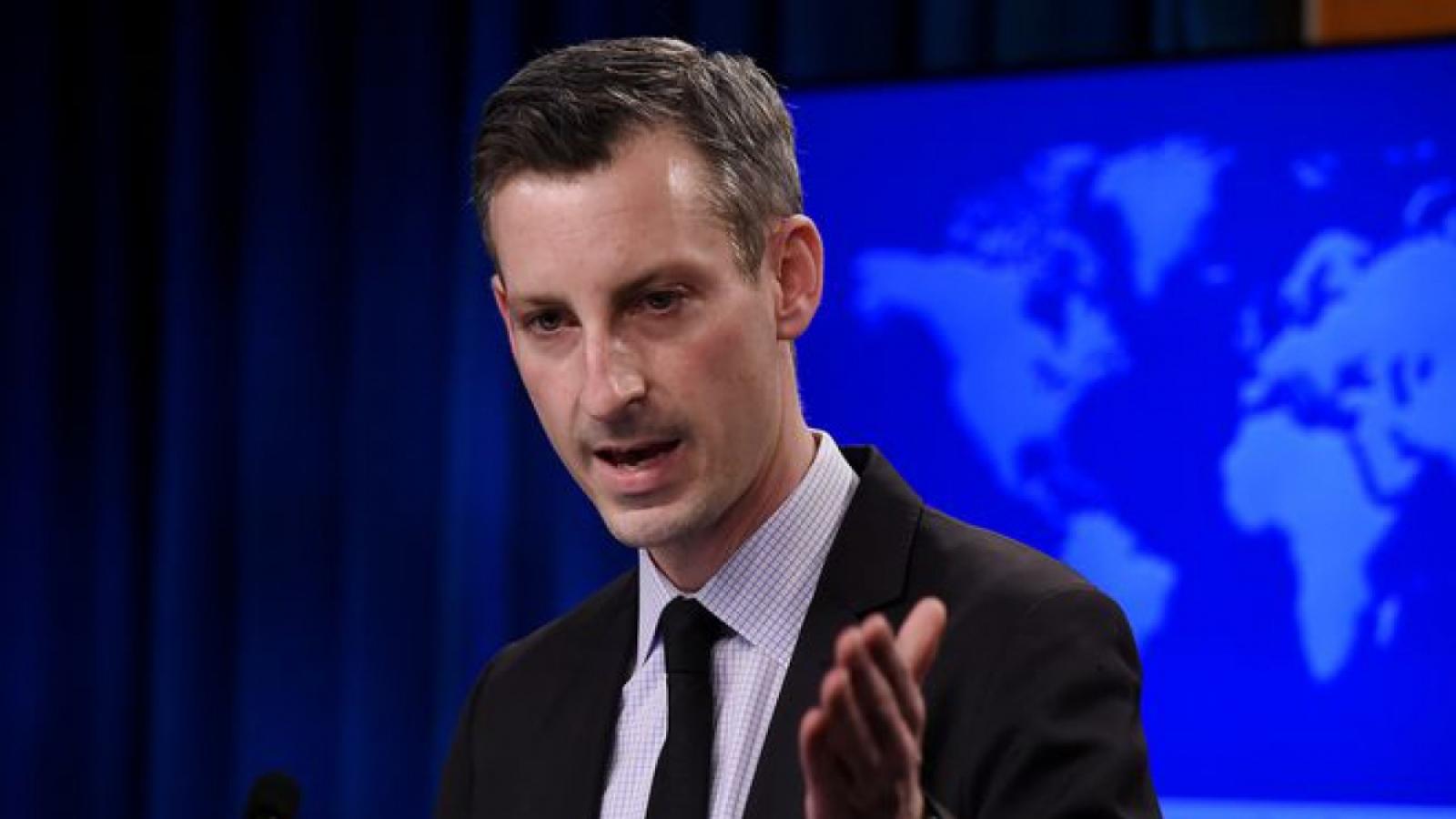 Mỹ cảnh báo Trung Quốc về hành vi gây leo thang căng thẳng với Philippines và Đài Loan