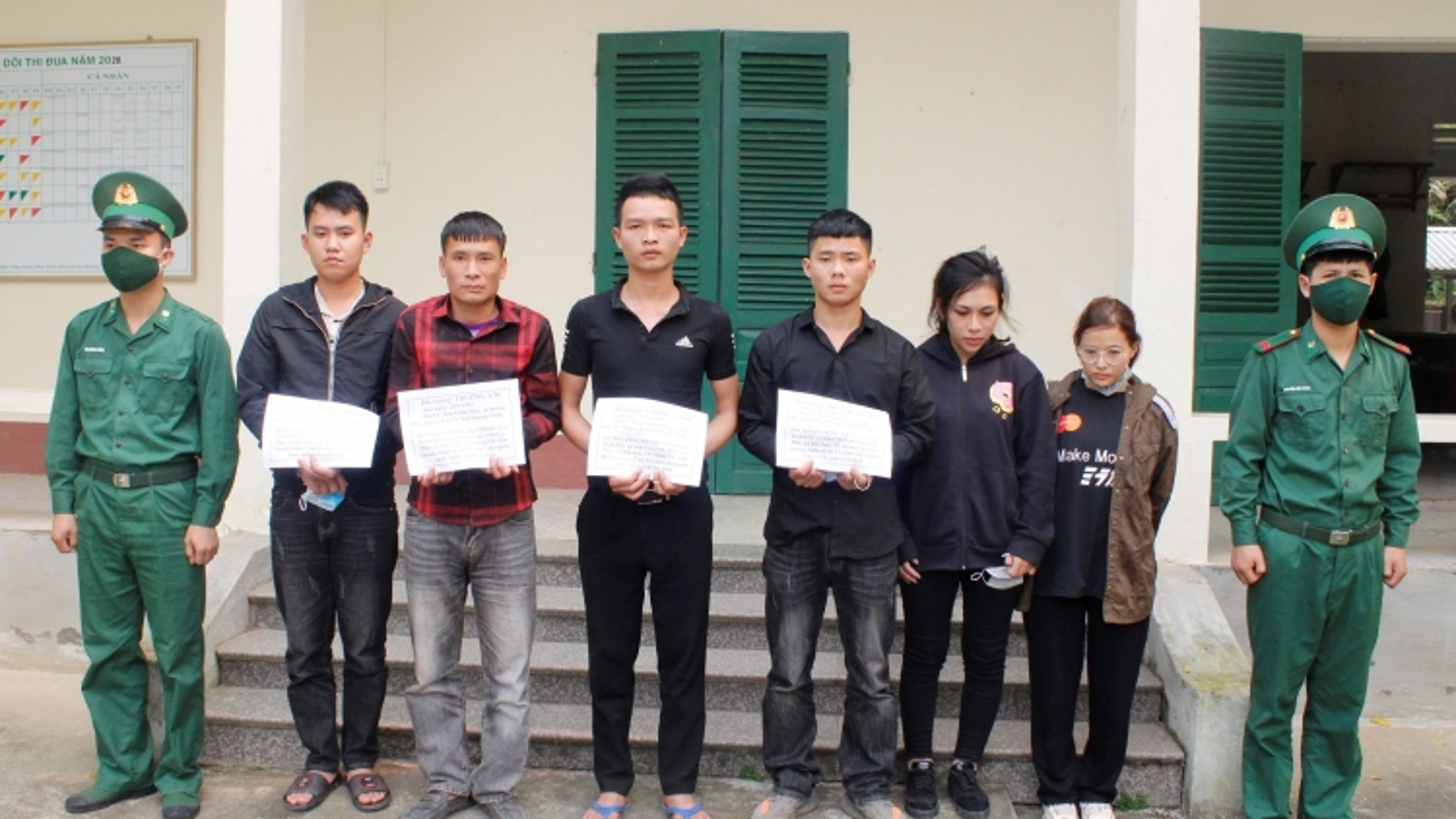 Quảng Ninh bắt giữ nhóm đối tượng tổ chức đưa người xuất cảnh trái phép sang Trung Quốc