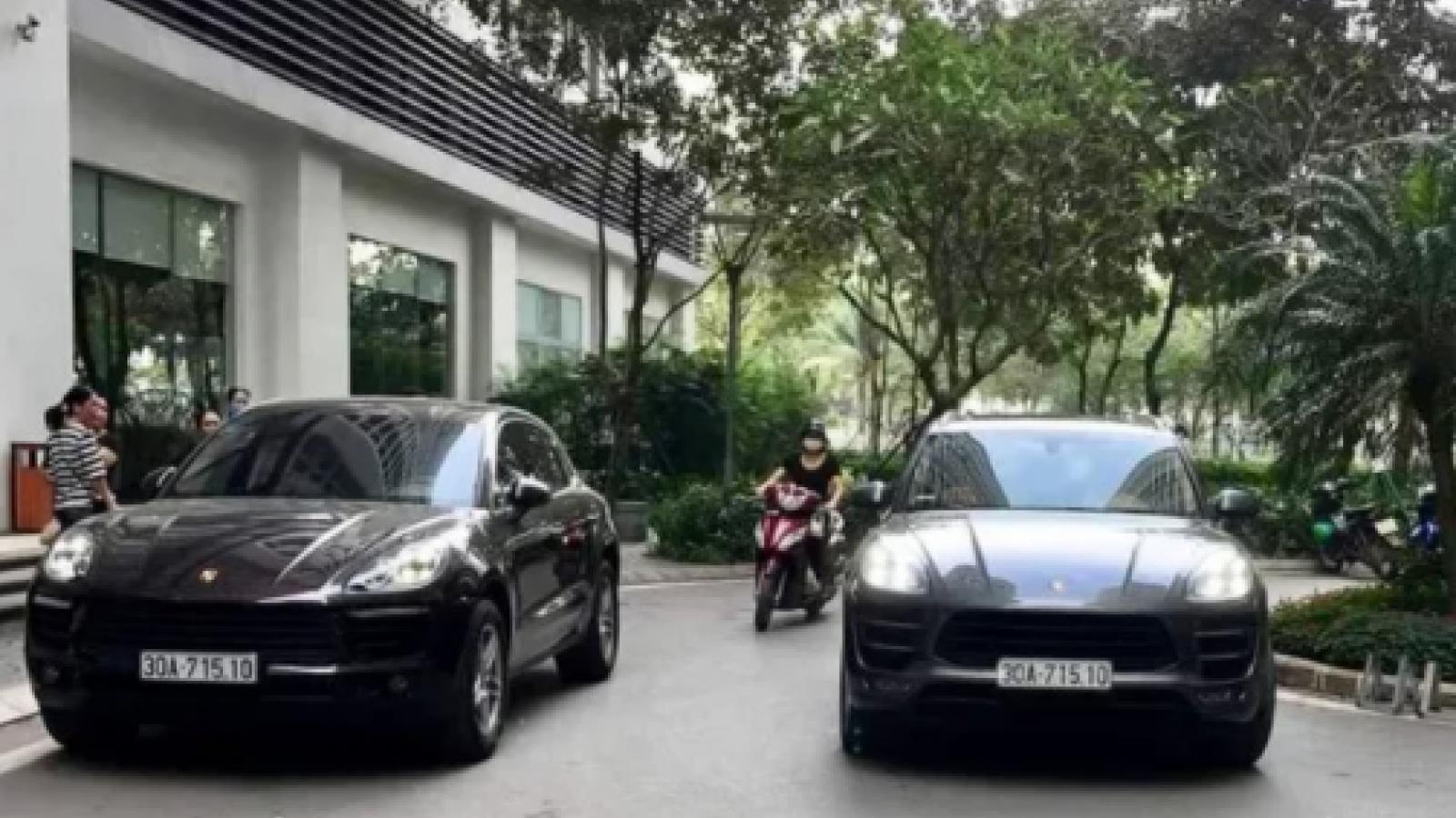 """Vụ 2 xế hộp Porsche """"biển số sinh đôi"""": Truy tìm nam tài xế"""